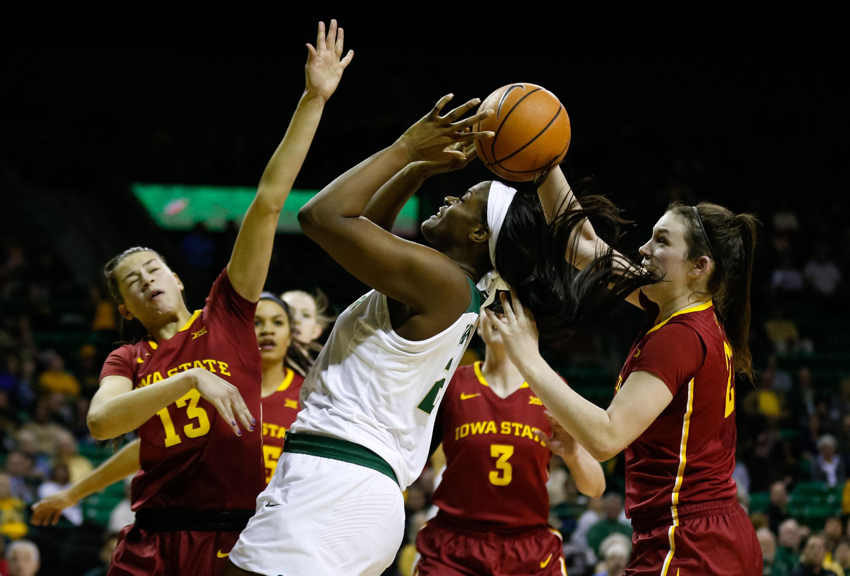 NCAA Womens Basketball: Iowa State at Baylor