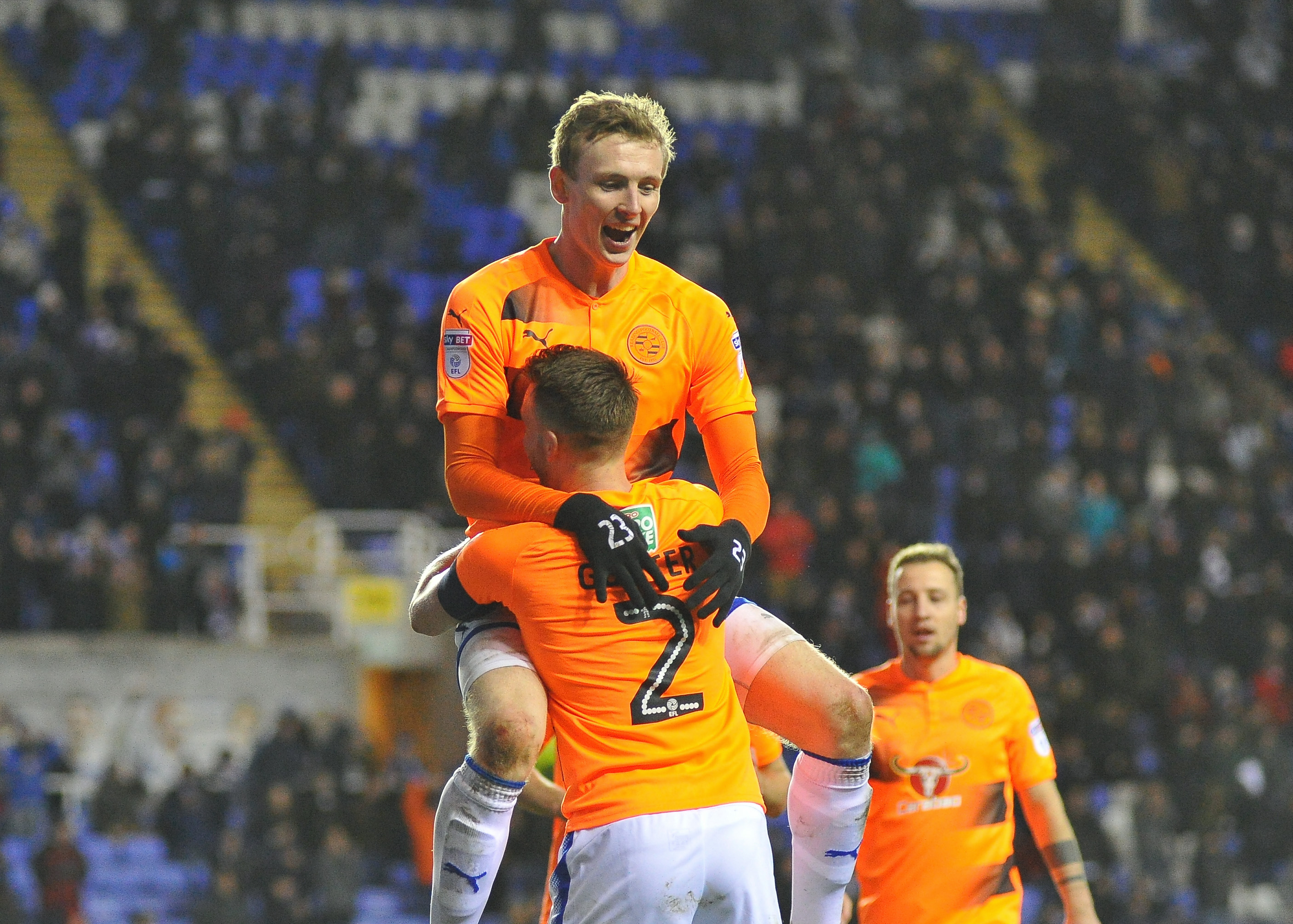 2018 FA Cup Football 3rd Round Replay Reading v Stevenage Jan 16th