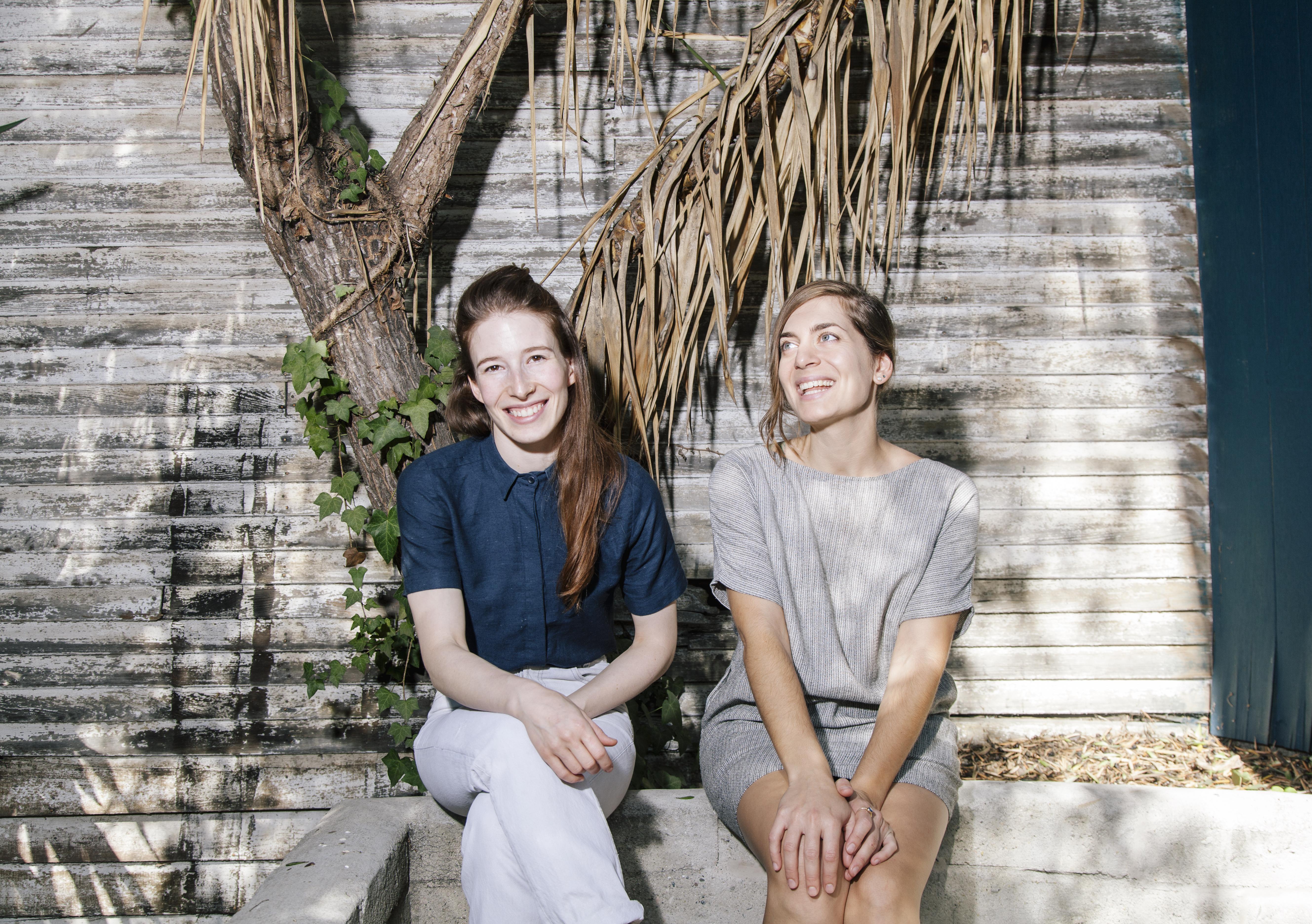 Sarah Hymanson (left) and Sara Kramer (right)