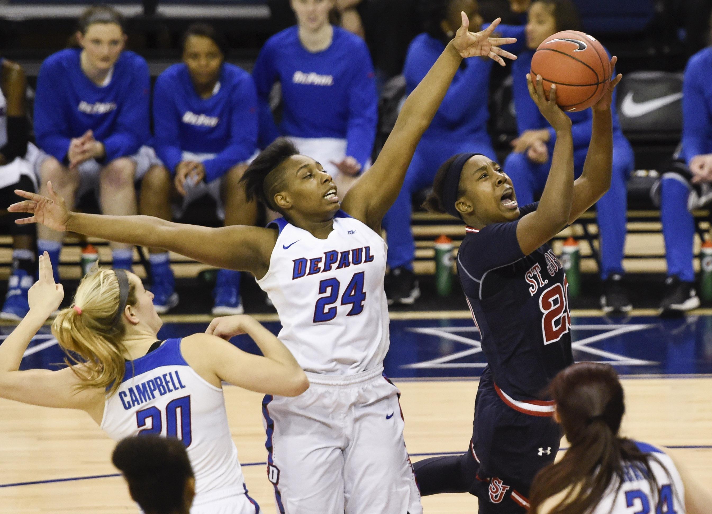 NCAA Womens Basketball: Big East Conference Tournament-DePaul vs St. John's