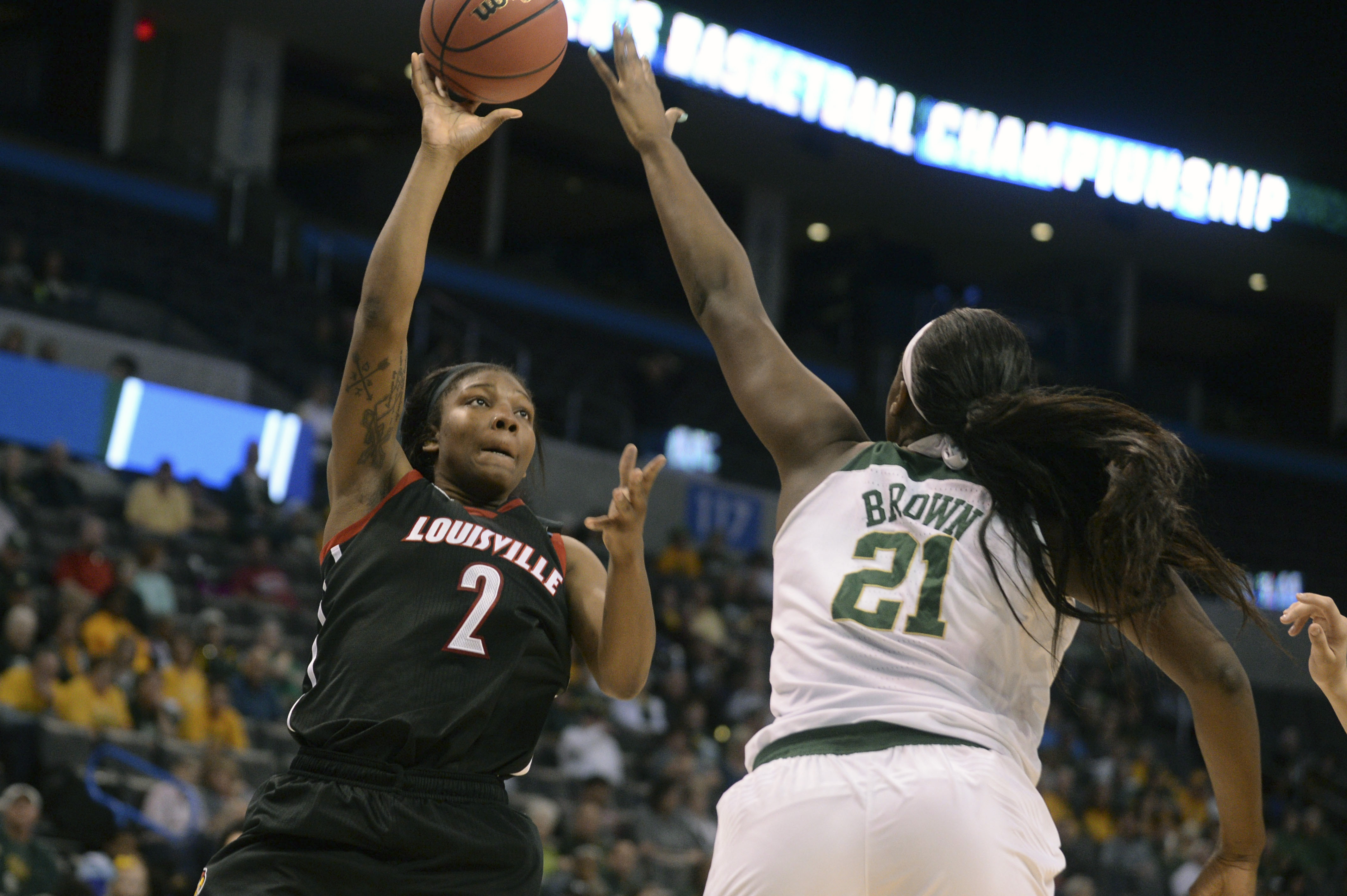 Kalani Brown threw down 20 a couple of weeks ago in Manhattan. What will she do at home?