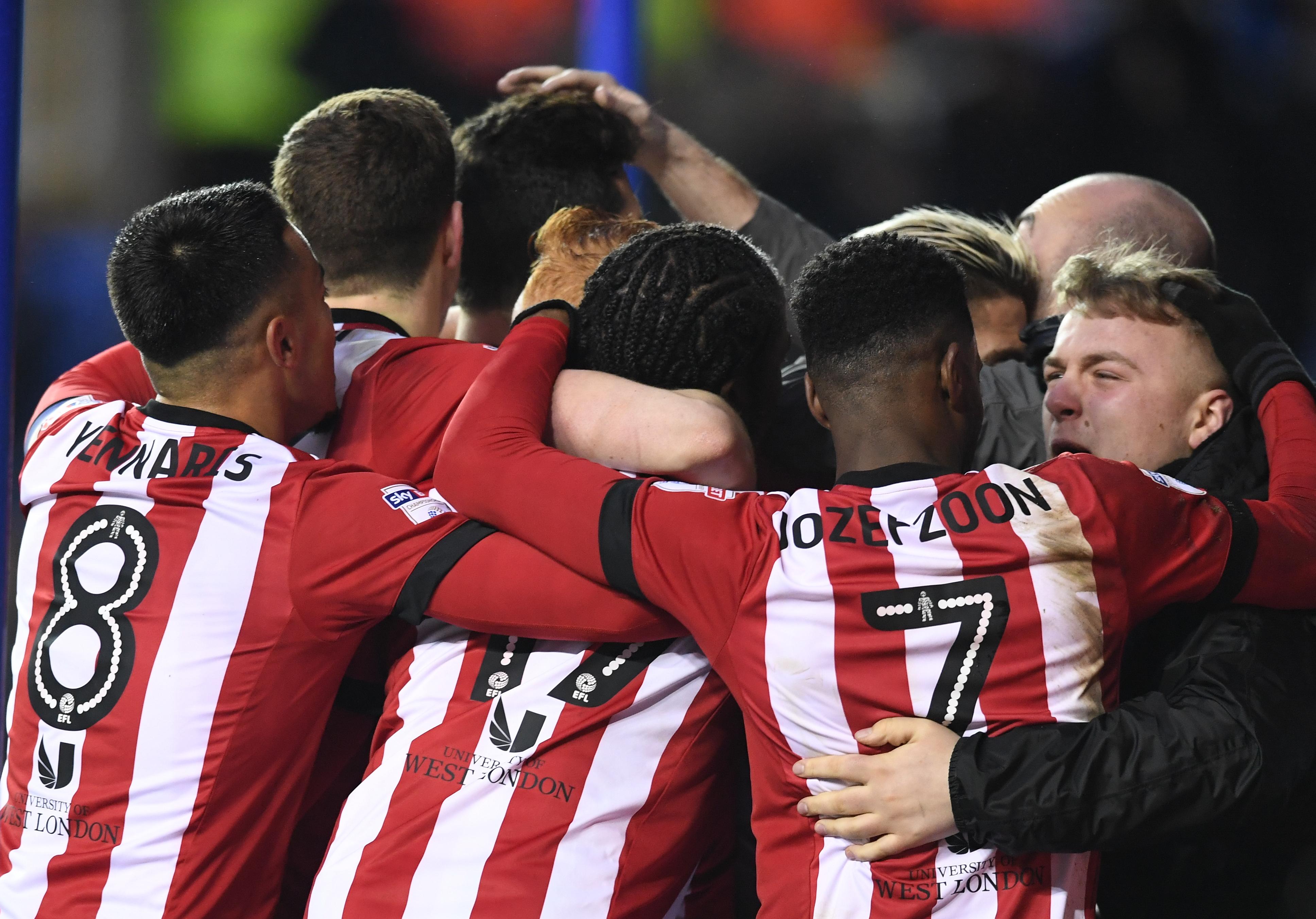 2018 EFL Championship Football Reading v Brentford Jan 20th