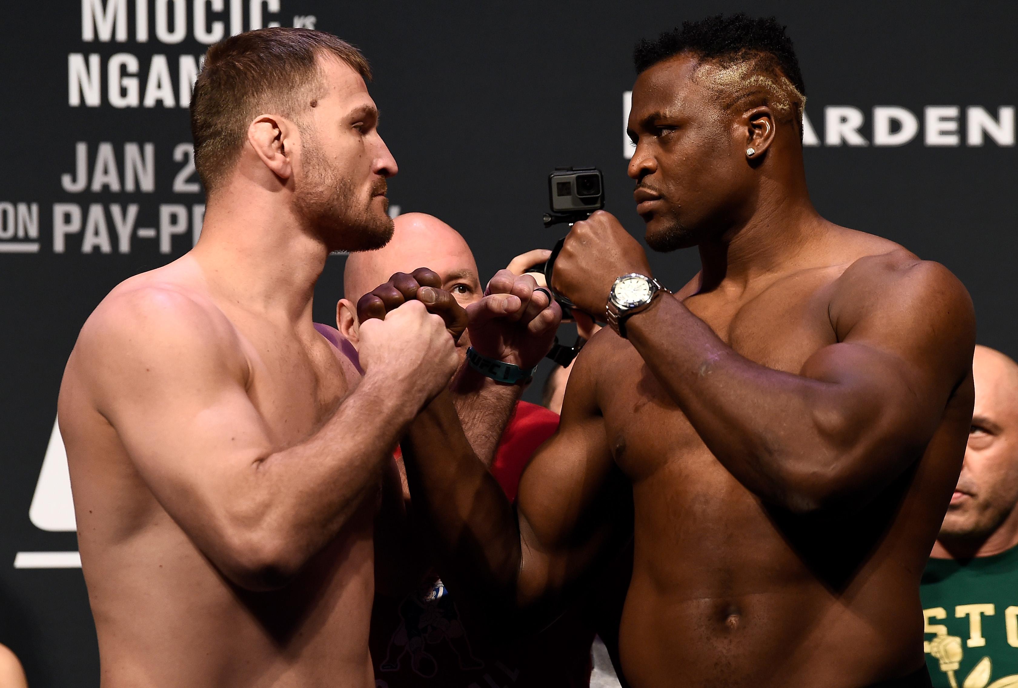 UFC 220 Weigh-ins