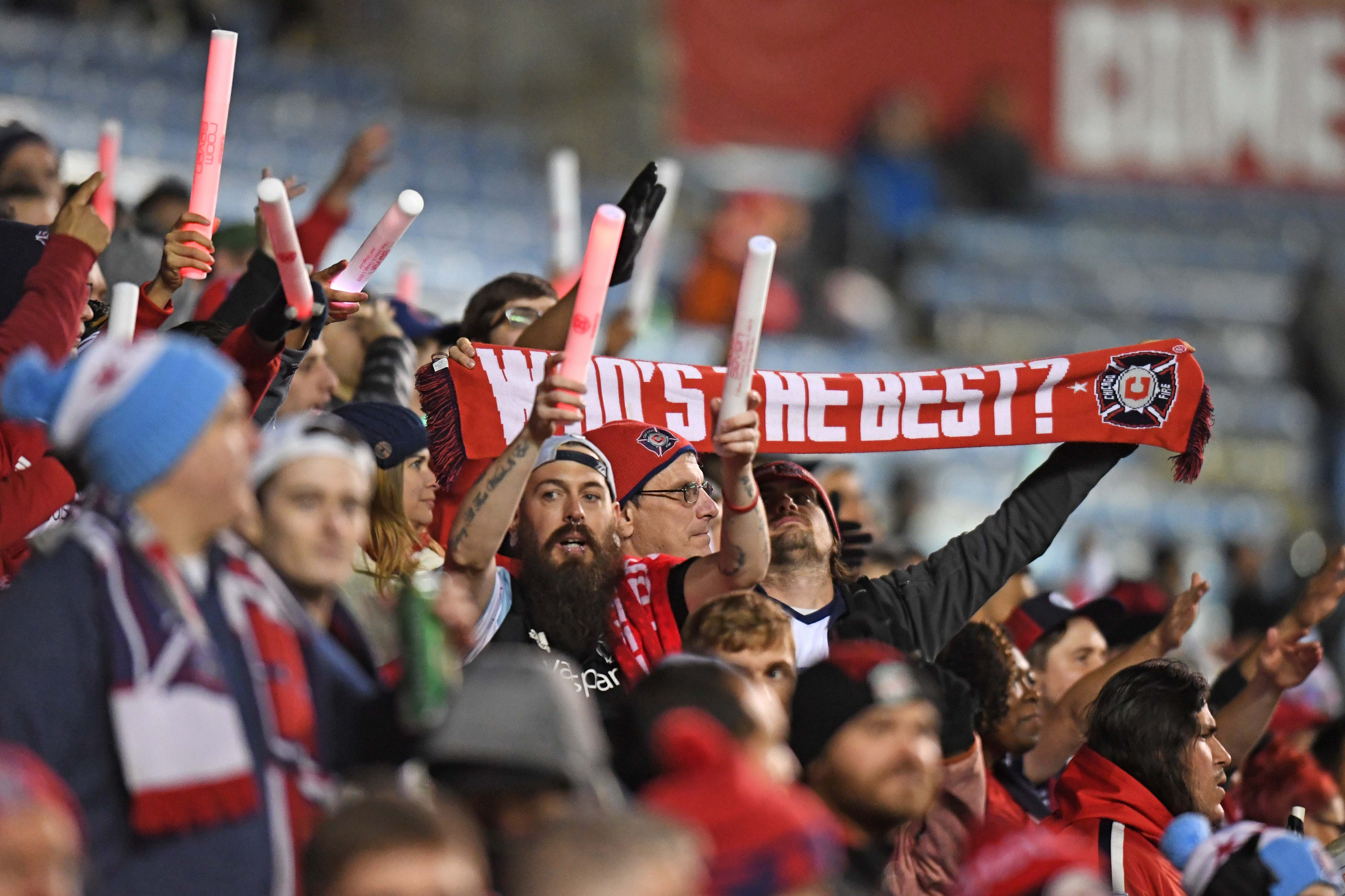 MLS: Eastern Conference Knockout Round-New York Red Bulls at Chicago Fire