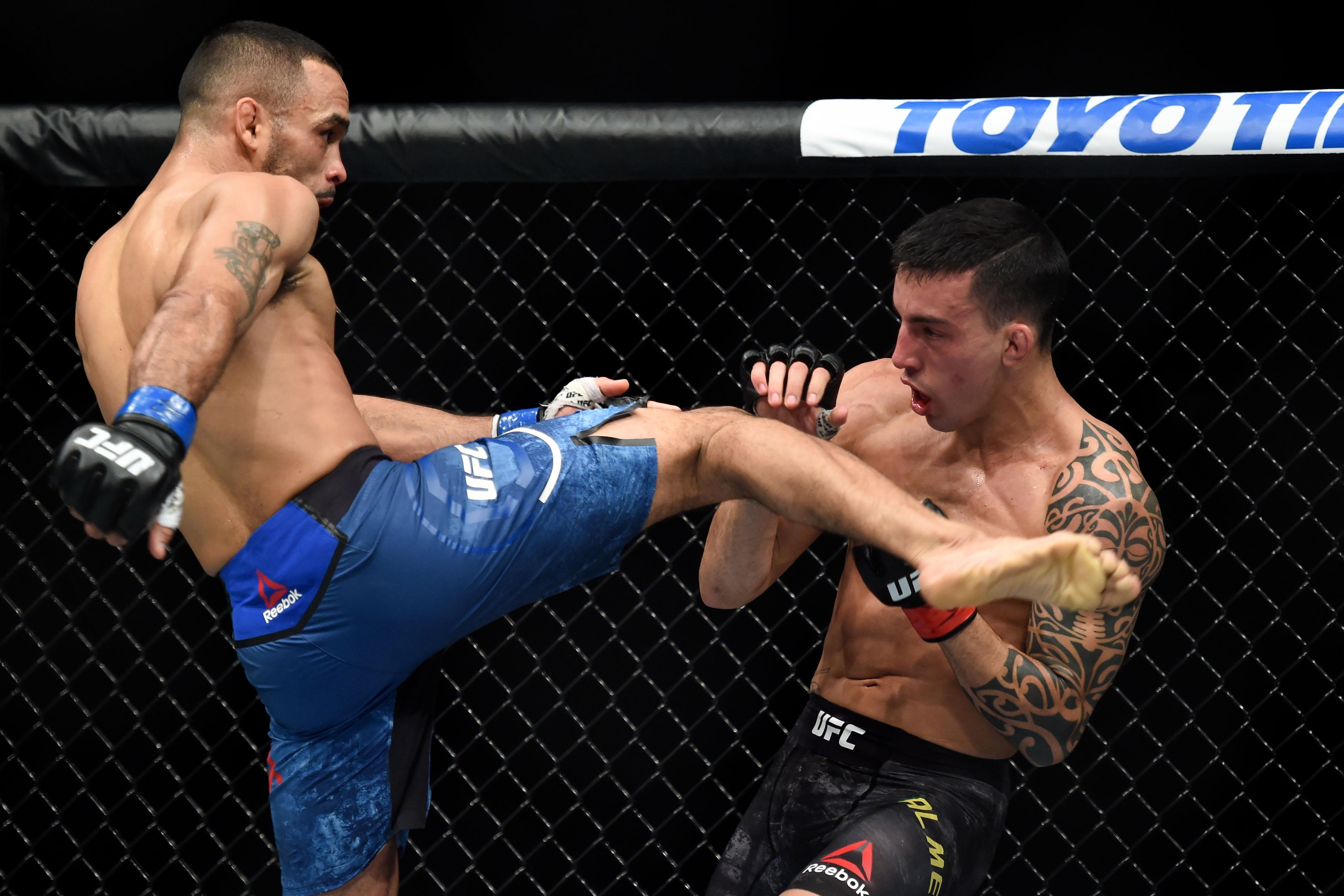 MMA: UFC 220- Almeida vs Font