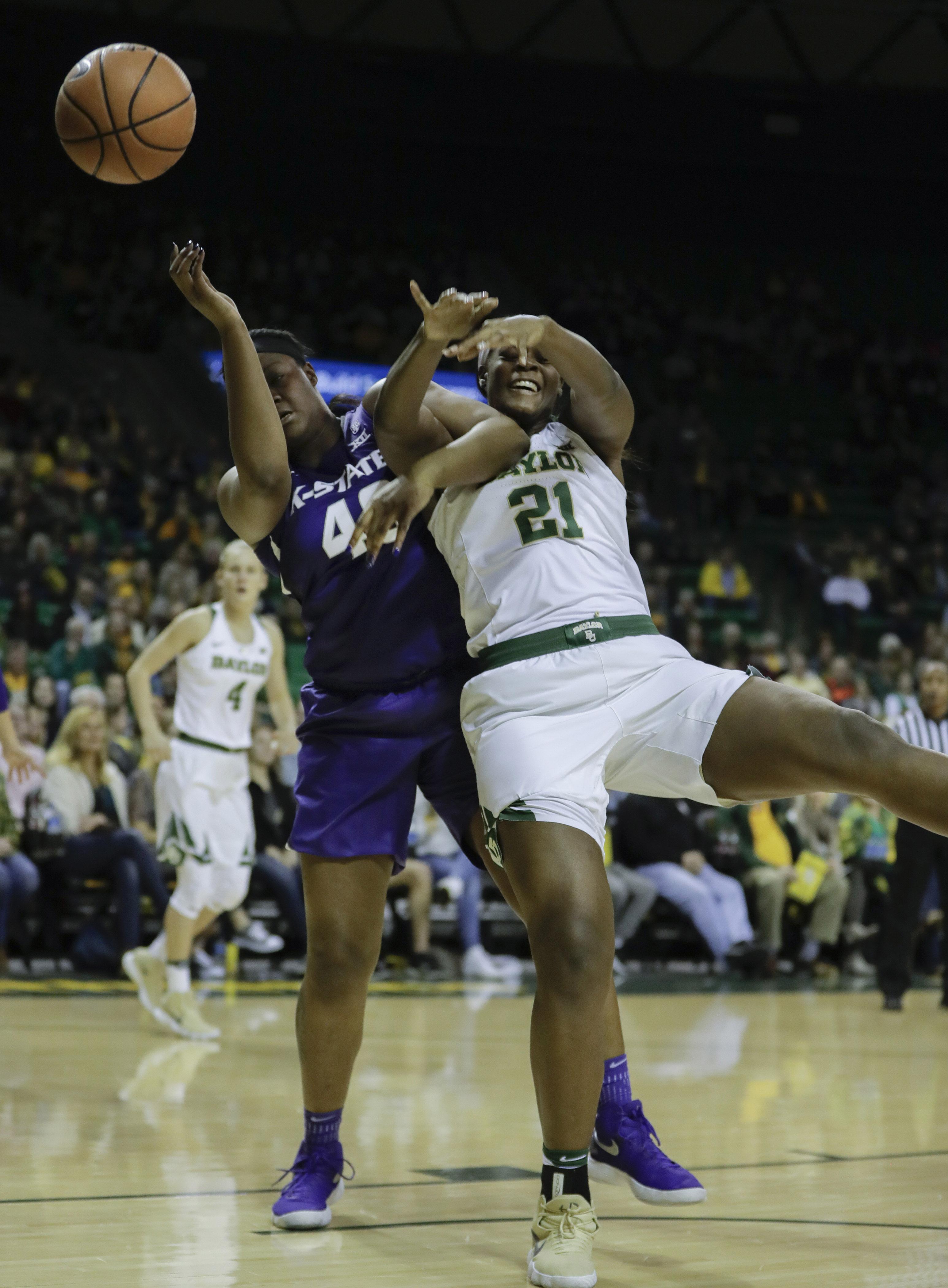 NCAA Womens Basketball: Kansas State at Baylor
