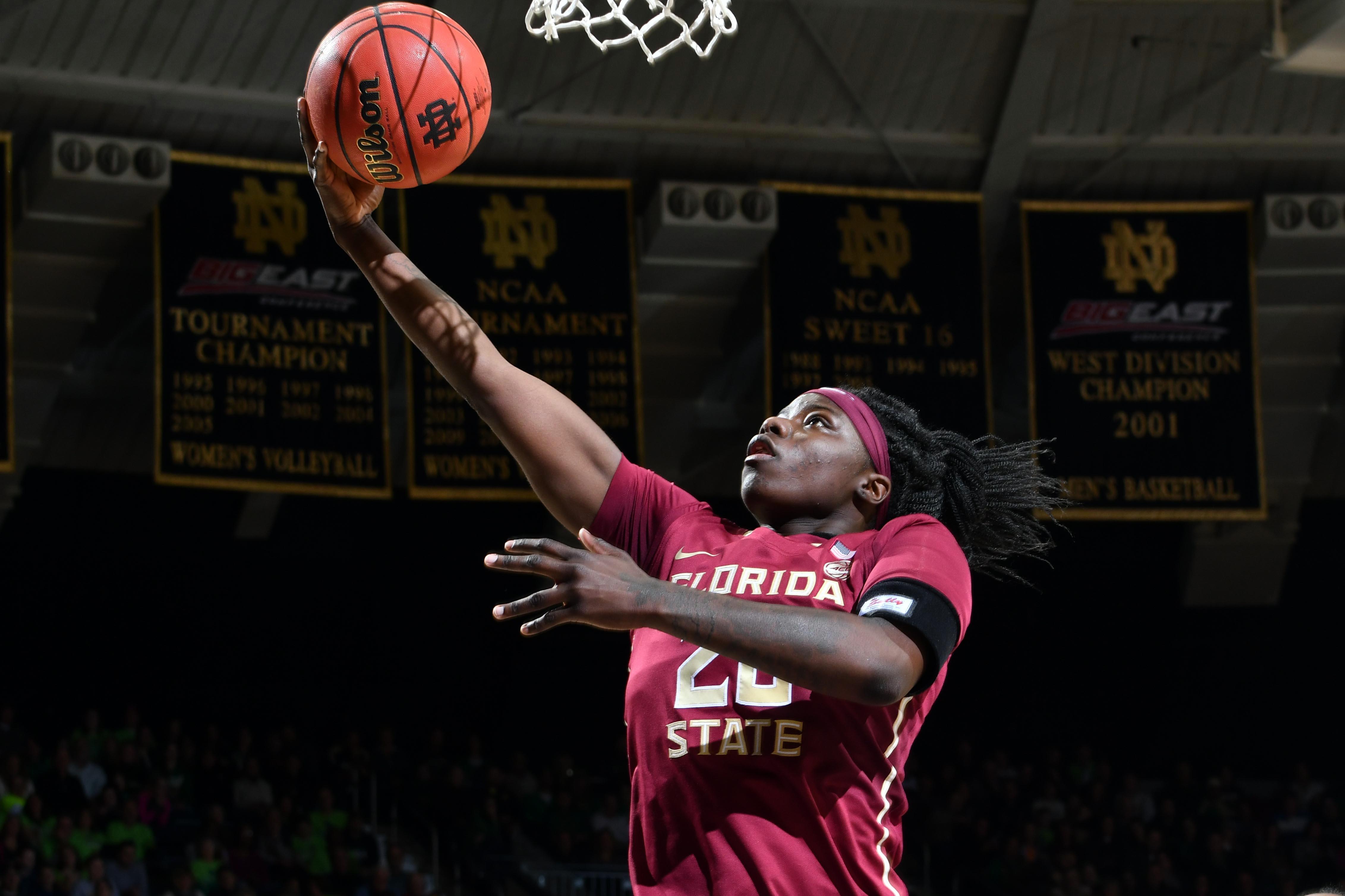 NCAA Womens Basketball: Florida St. at Notre Dame