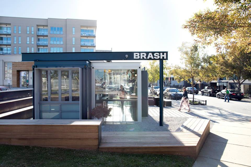 Brash Coffee at Westside Provisions District.