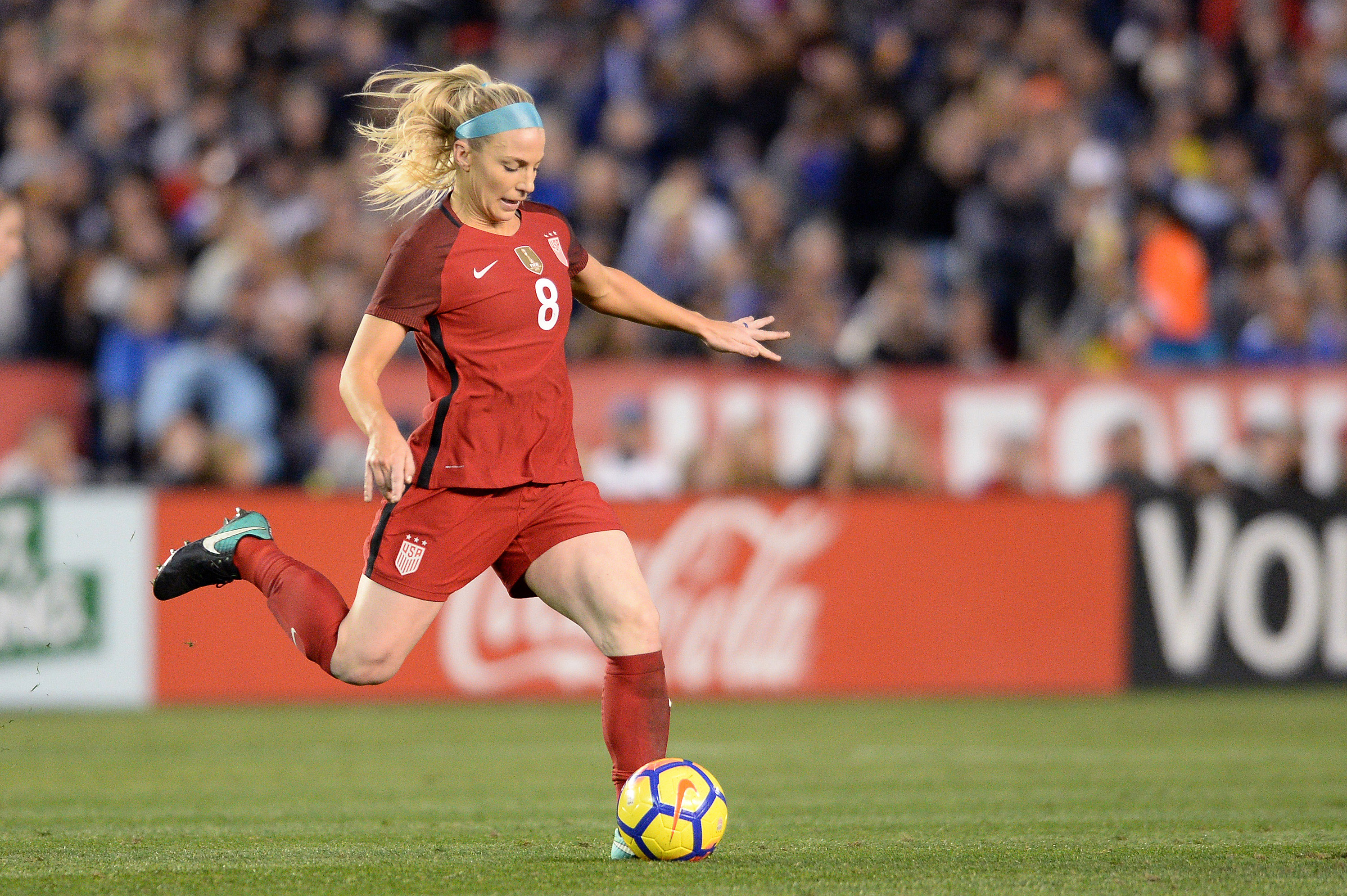 Soccer: International Friendly Women's Soccer-Denmark at U.S.A.