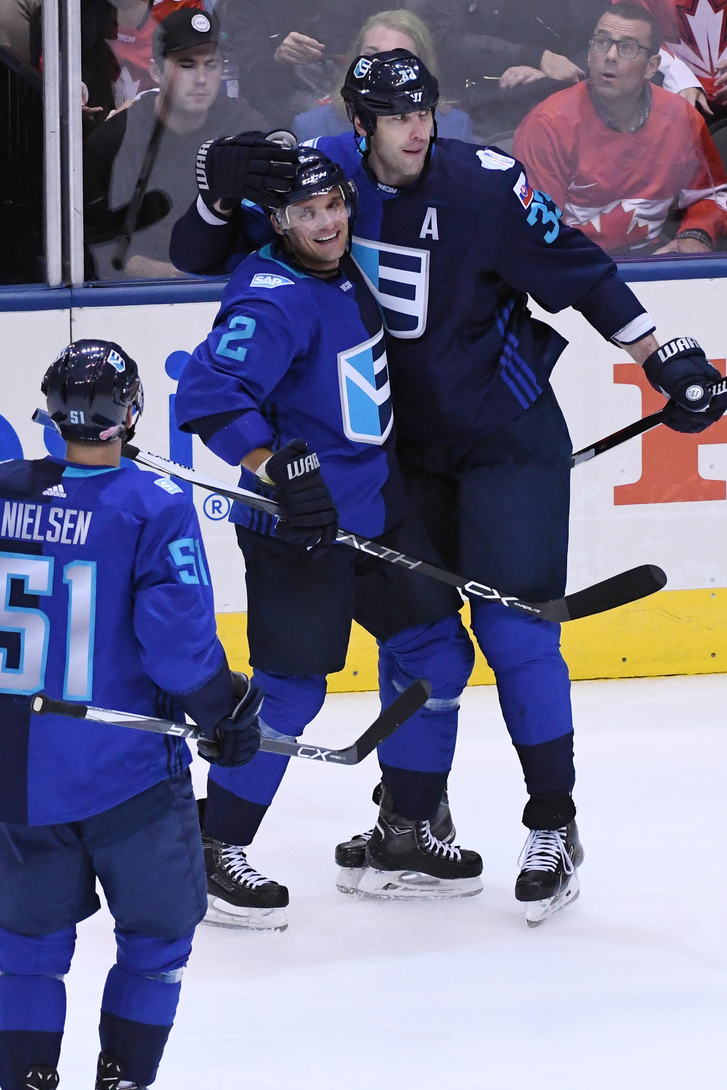 HOCKEY: SEP 29 World Cup of Hockey - Final - Game 2 - Team Europe v Team Canada
