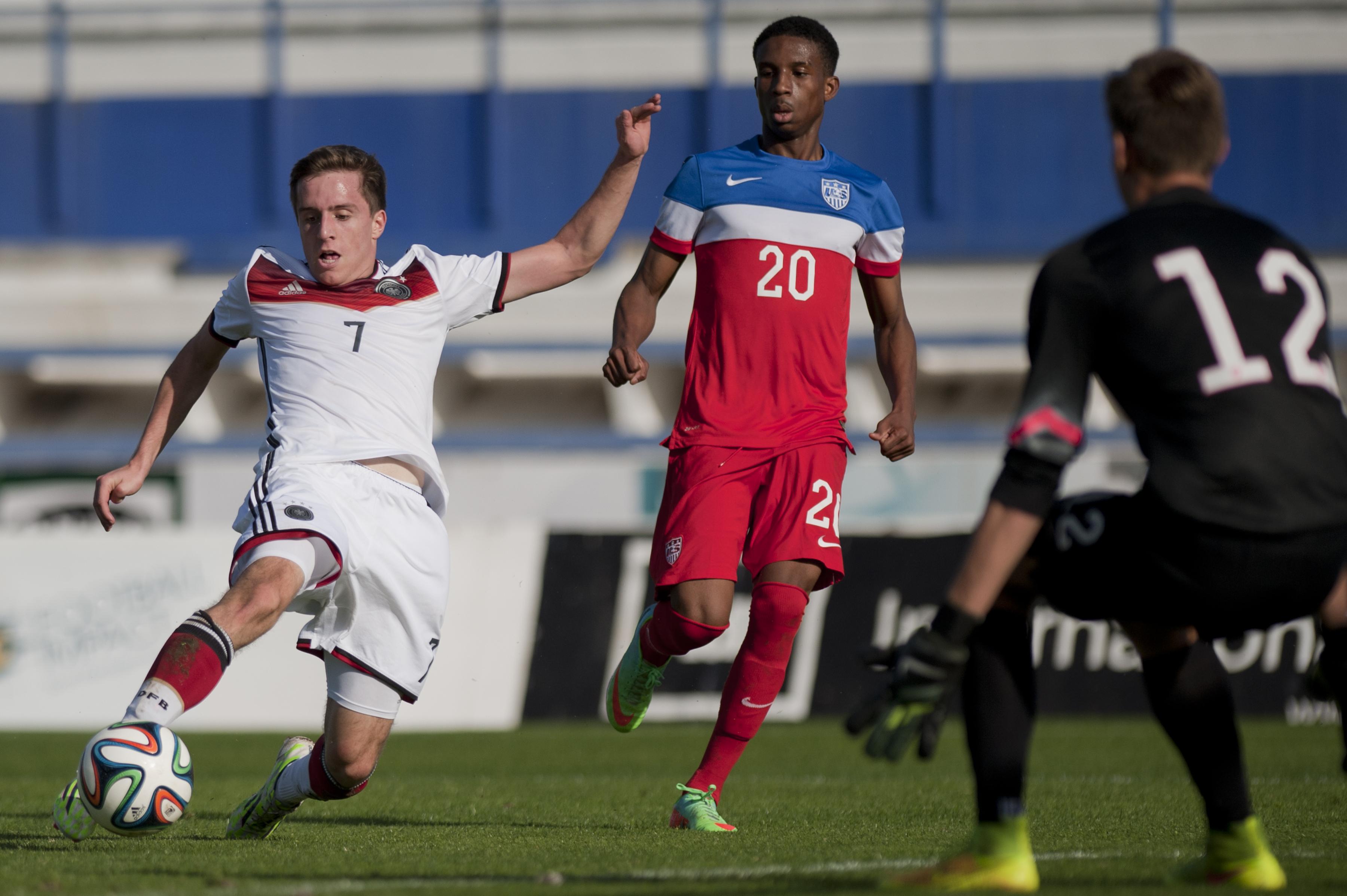 U18 USA v U18 Germany - International Friendly