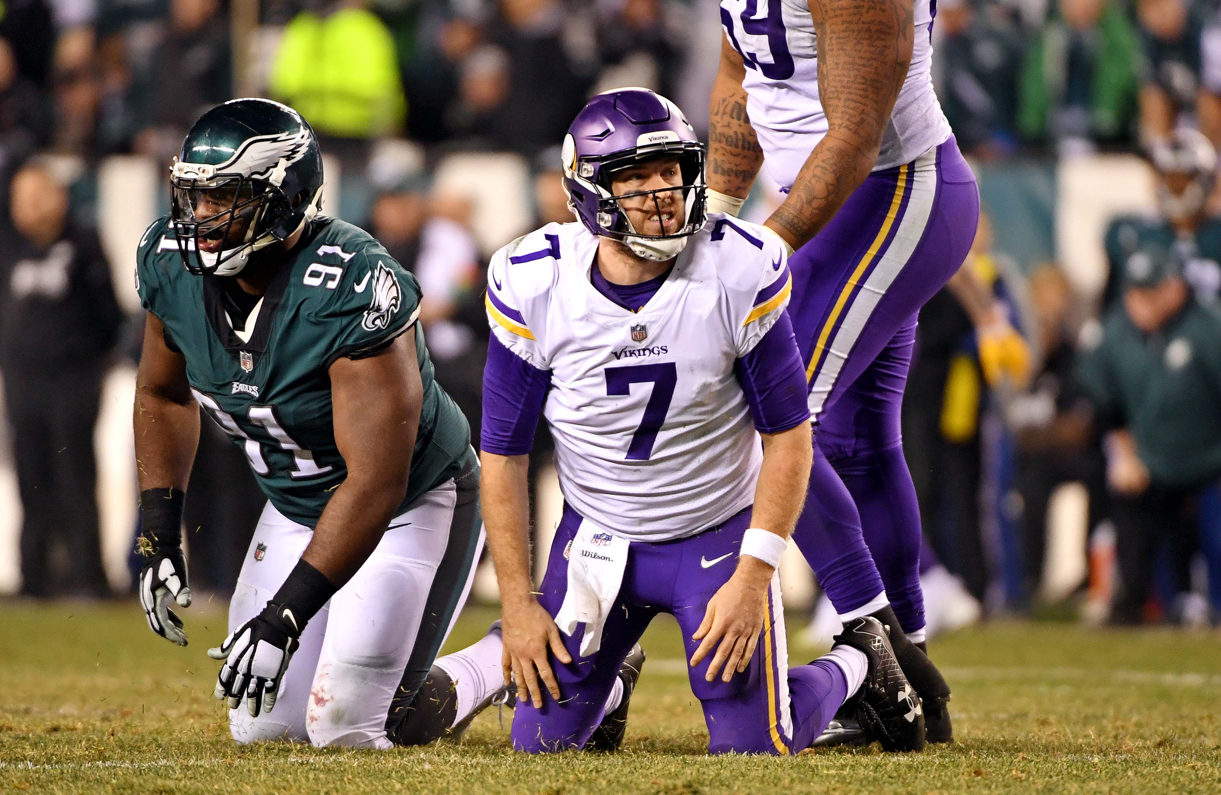 The Vikings' painful playoff history lives on, even after a miraculous win
