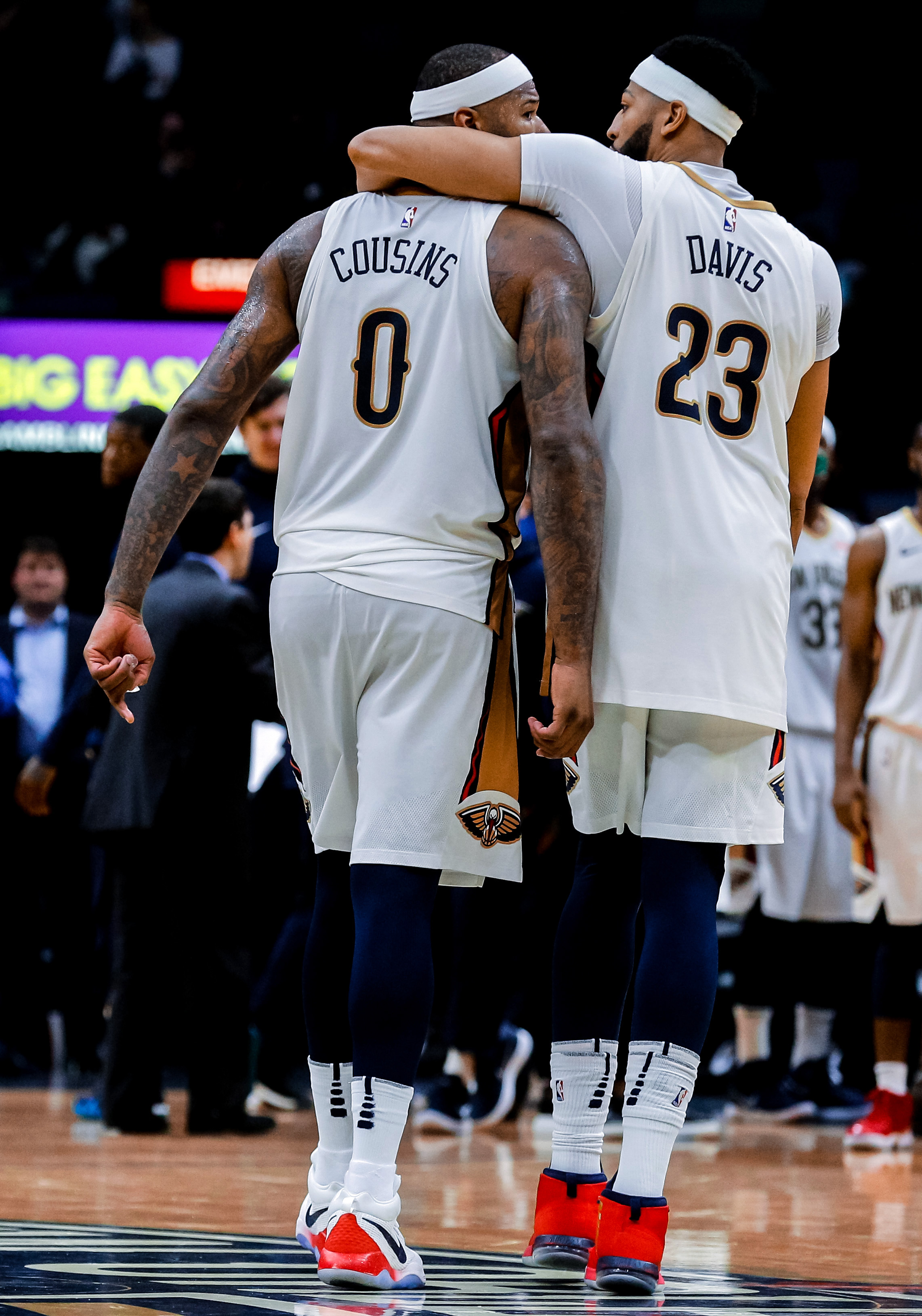 19fed08e1 Breaking news  Anthony Davis and DeMarcus Cousins not getting traded from New  Orleans Pelicans
