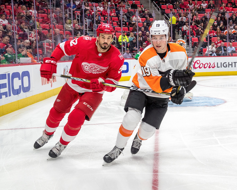 Philadelphia Flyers v Detroit Red Wings