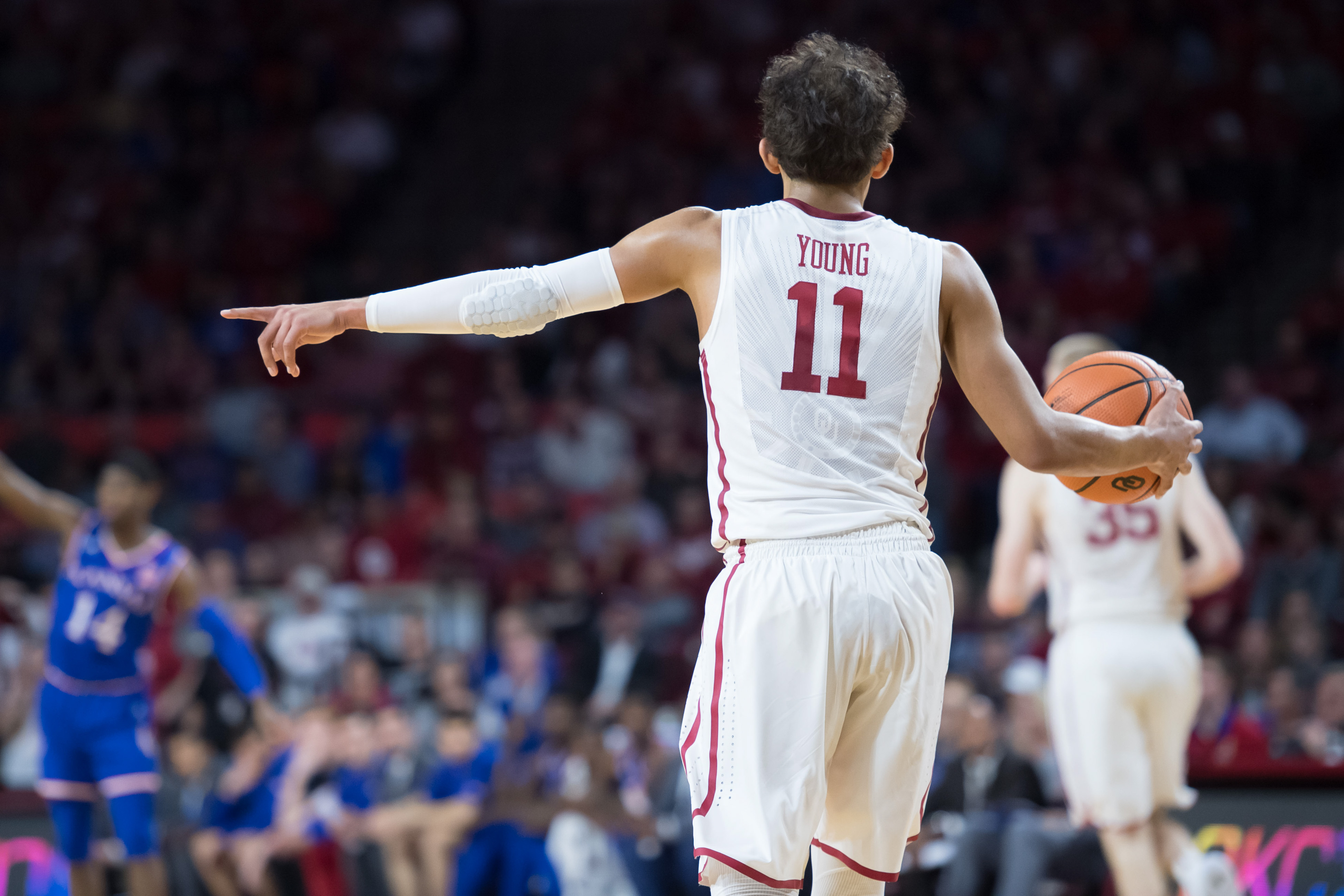 new styles 71eff 52d80 Trae Young and the Oklahoma Sooners sent a message to ...
