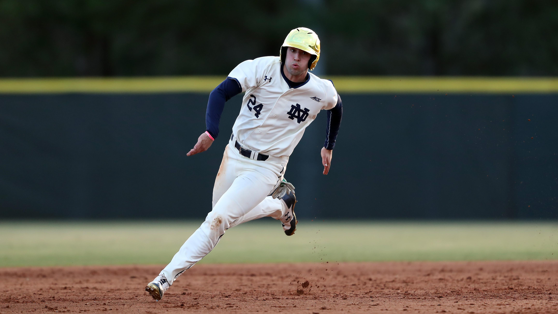 purchase cheap 9e3b7 b702b Notre Dame Baseball: Junior Matt Vierling Named To Perfect ...
