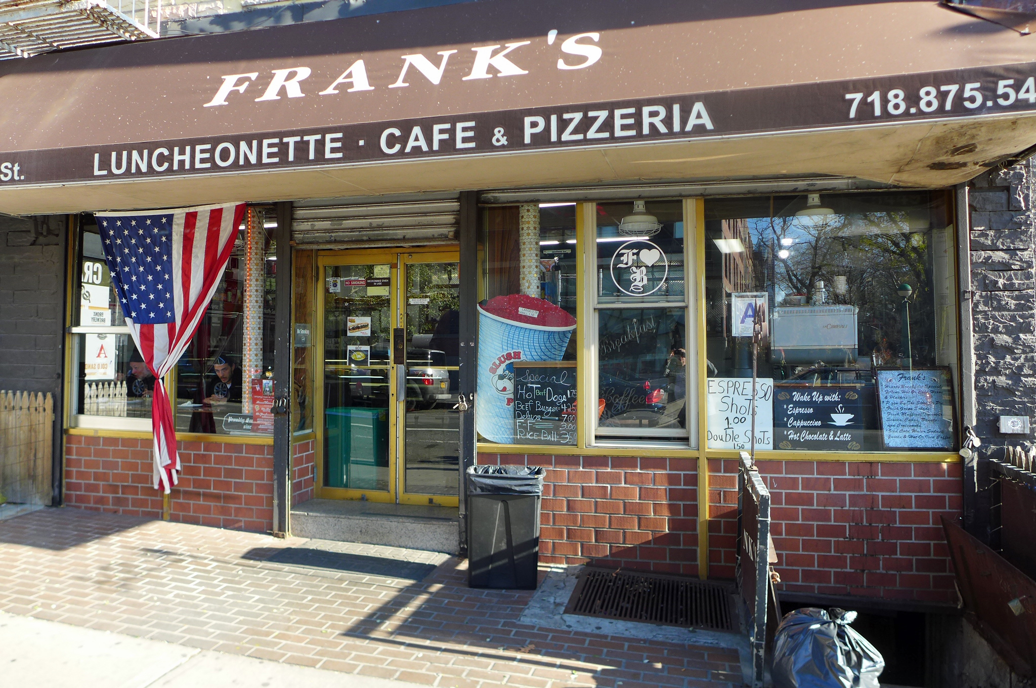 Frank's delivers what may be the city's best calzone