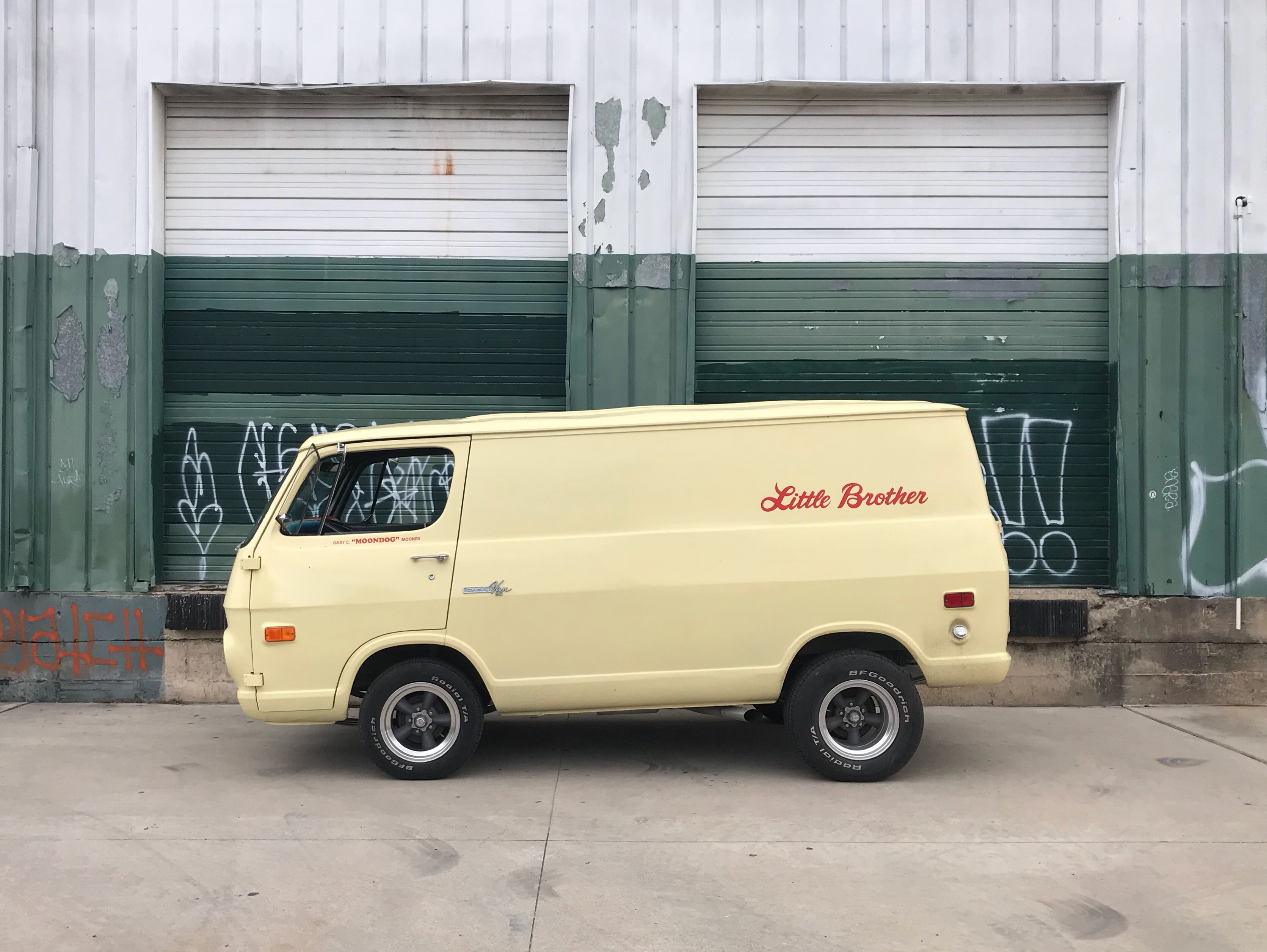 Little Brother's coffee and booze van