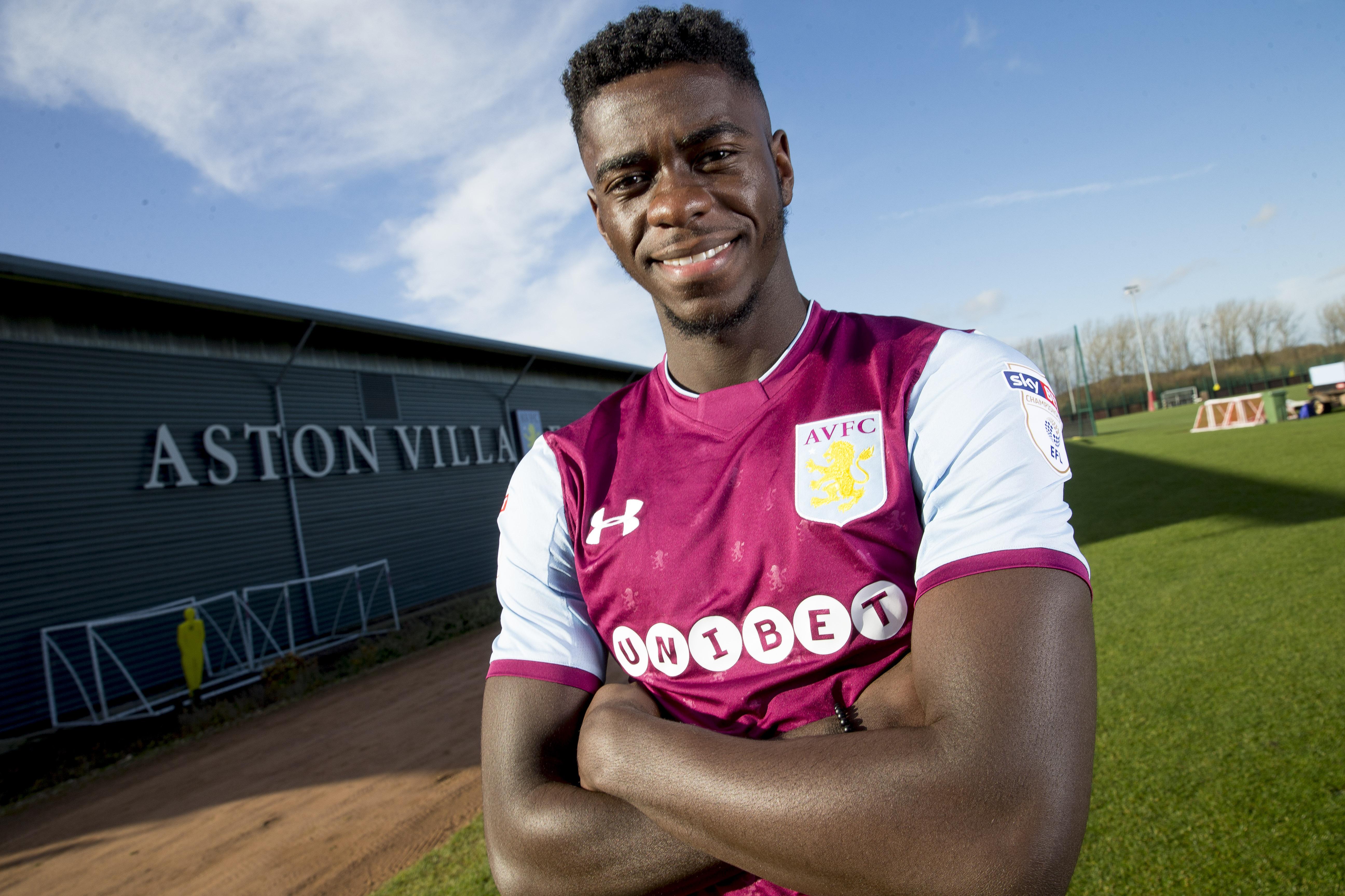 Aston Villa Unveil New Loan Signing Axel Tuanzebe