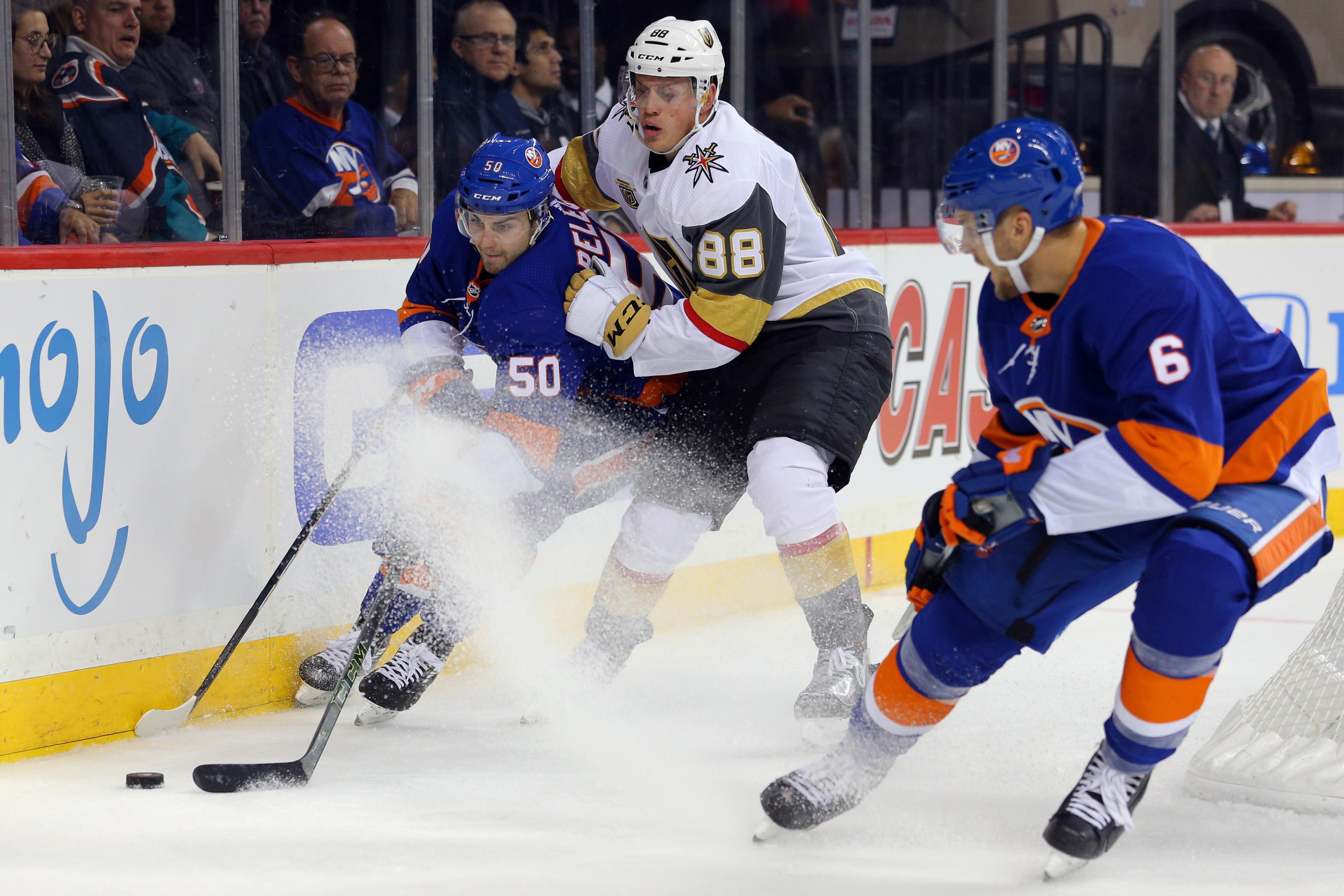 NHL: Vegas Golden Knights at New York Islanders