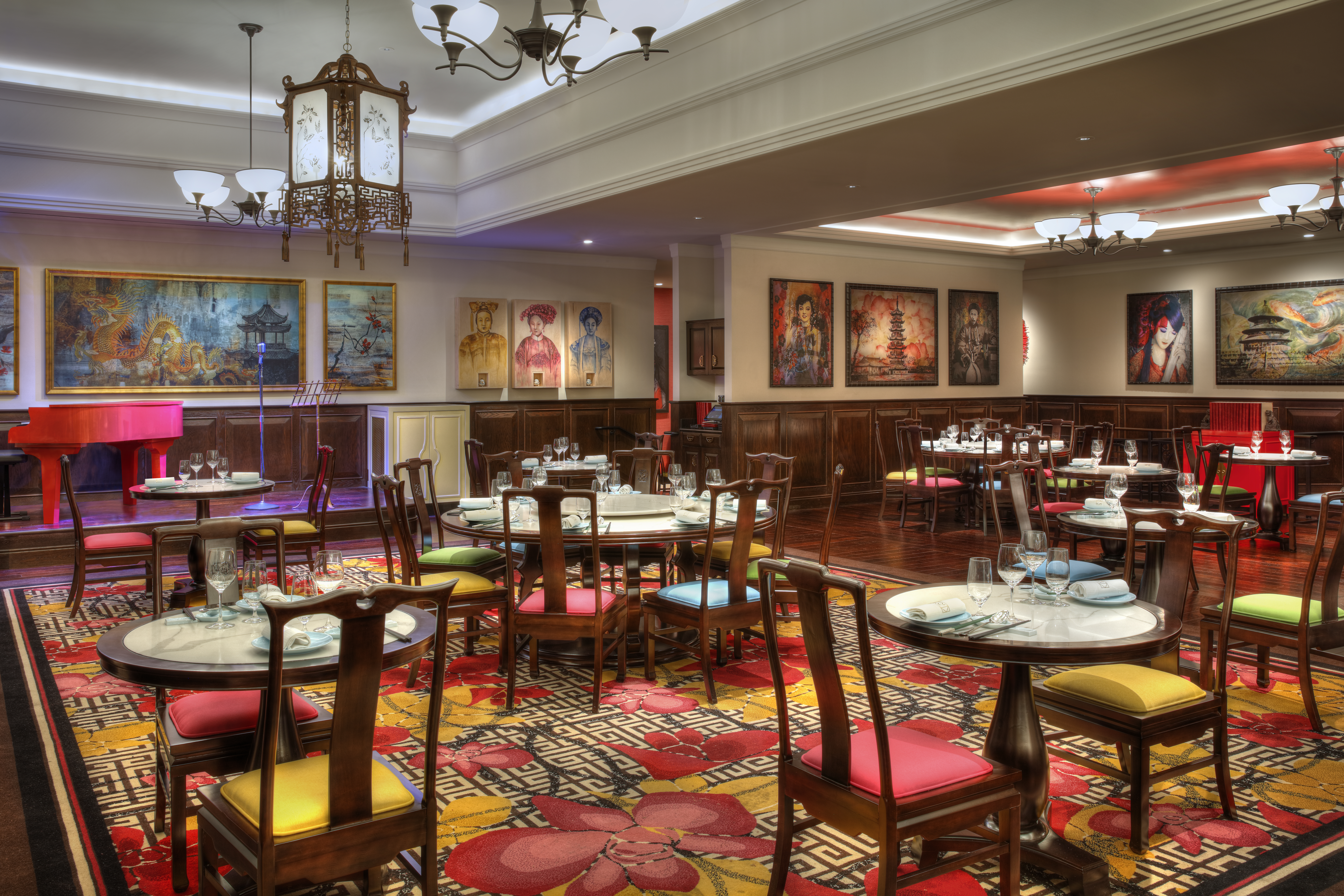 The interior of China Tang, scheduled to close in February at the MGM Grand.