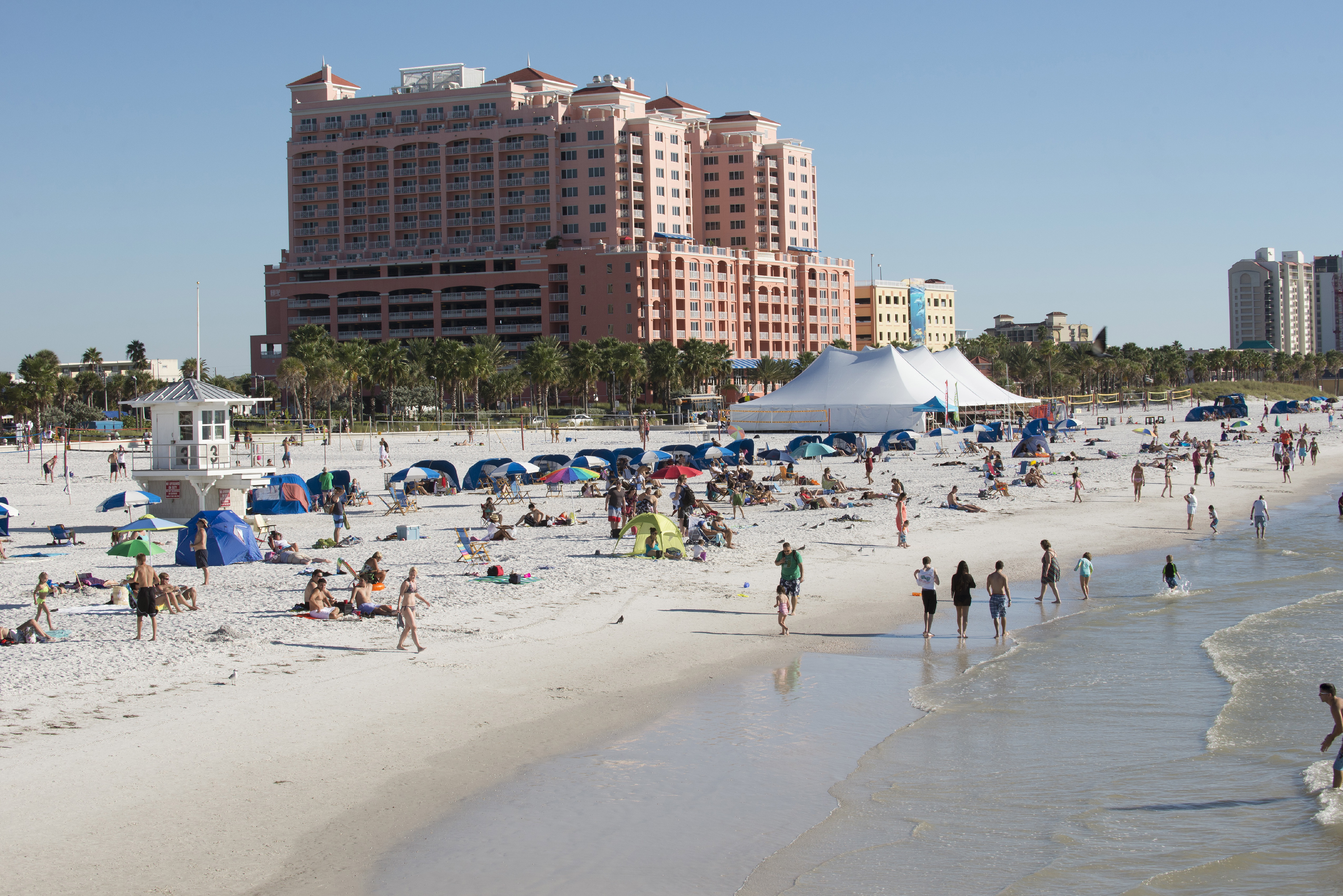 Clearwater Beach Florida USA
