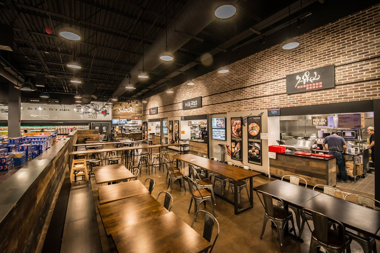 Market Eatery at H Mart