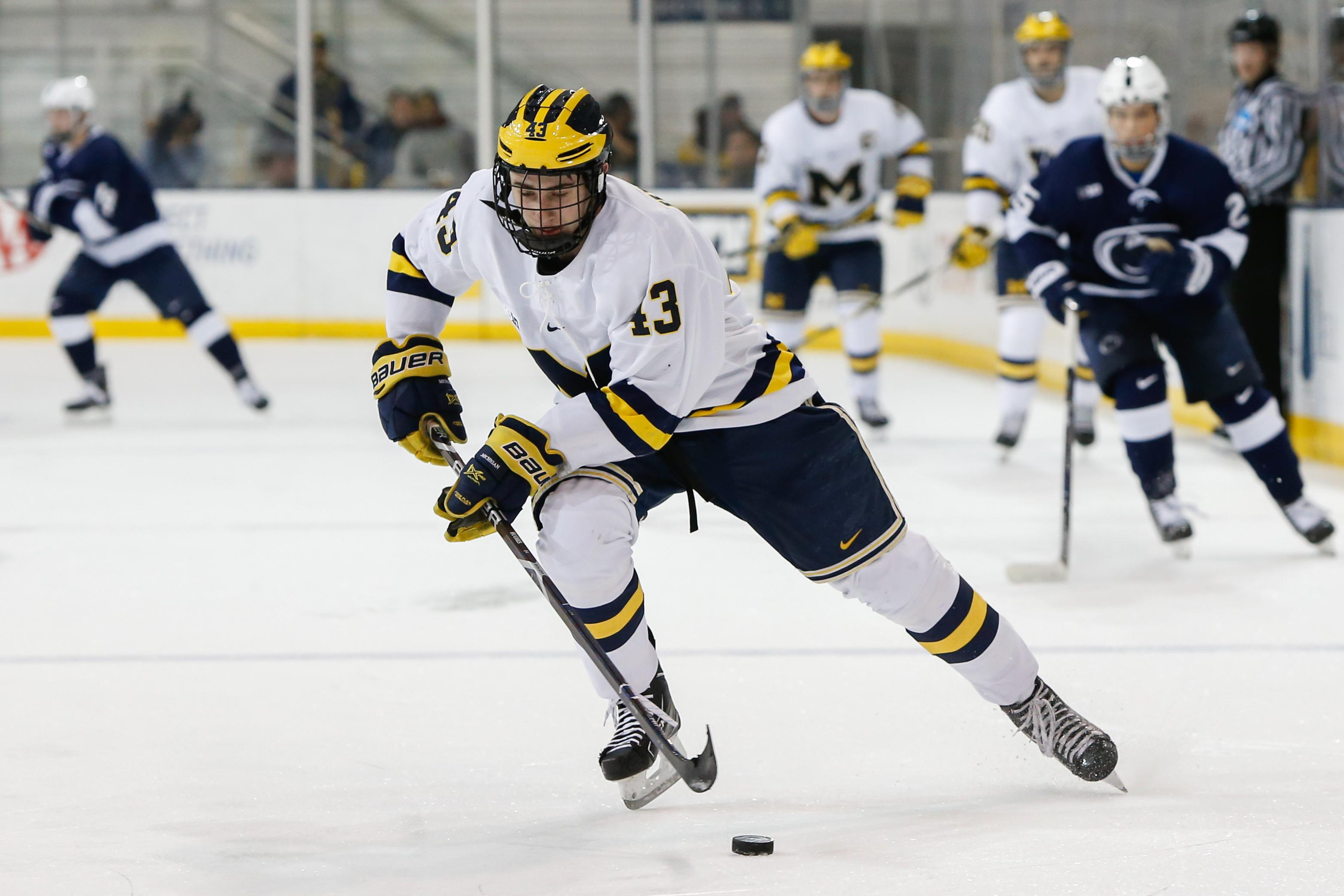 COLLEGE HOCKEY: JAN 19 Penn State at Michigan