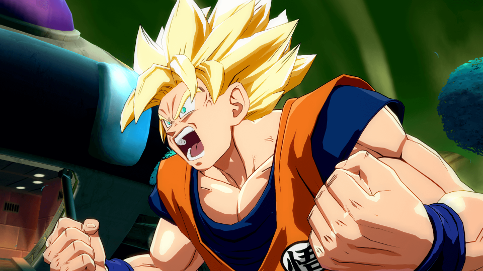 Dragon Ball FighterZ's graphics settings give the game a retro vibe