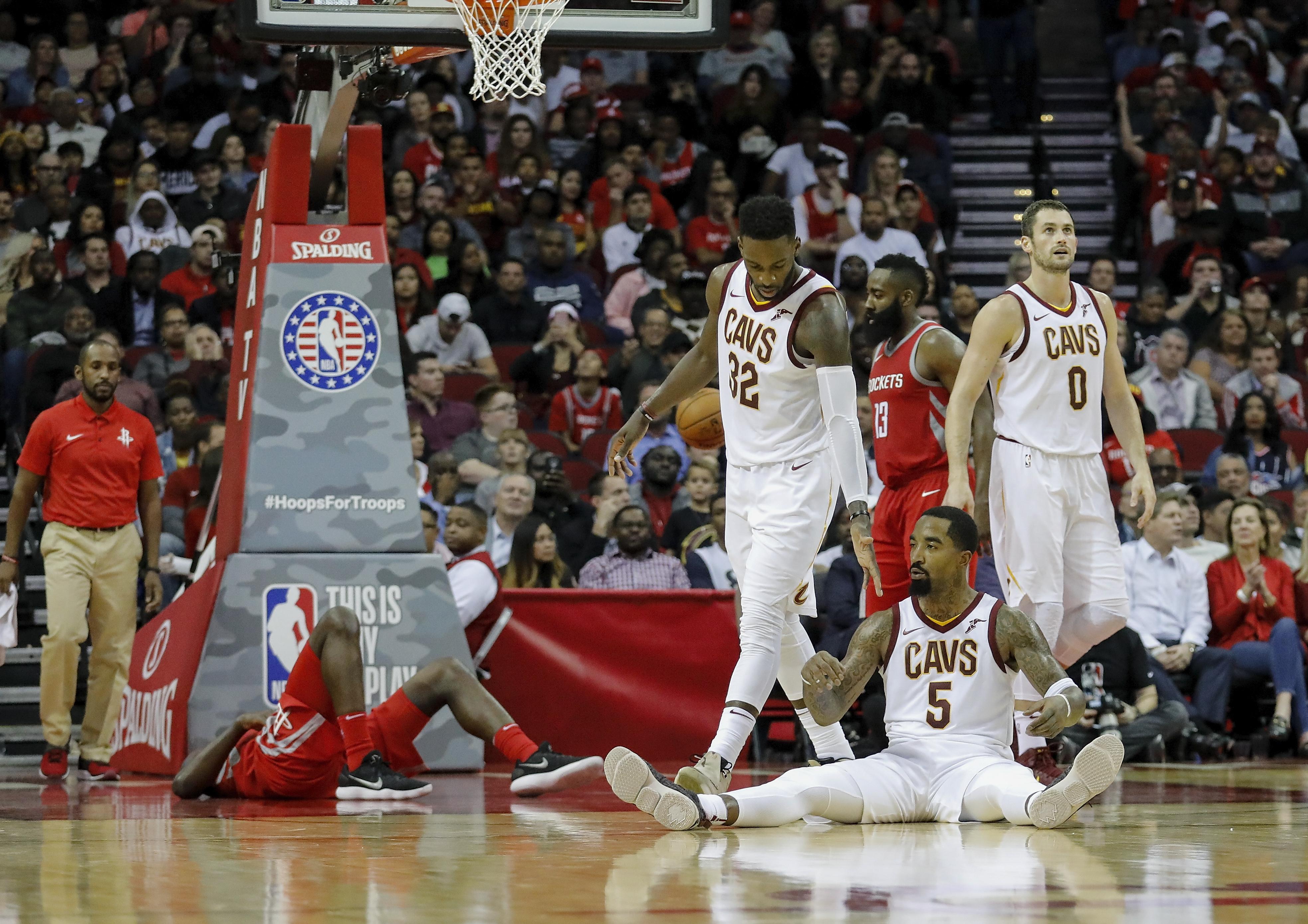 Cleveland Cavaliers v Houston Rockets