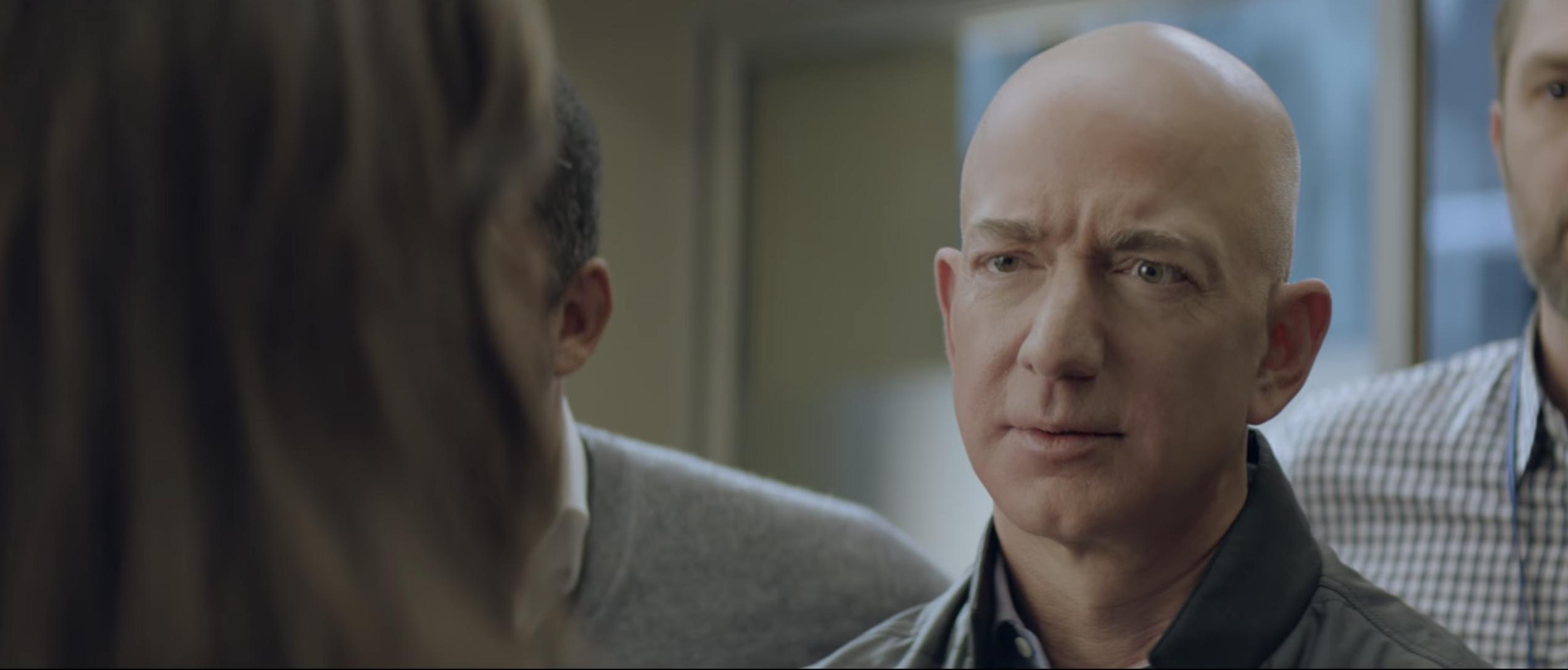 Jeff Bezos Amazon Alexa Super Bowl commercial