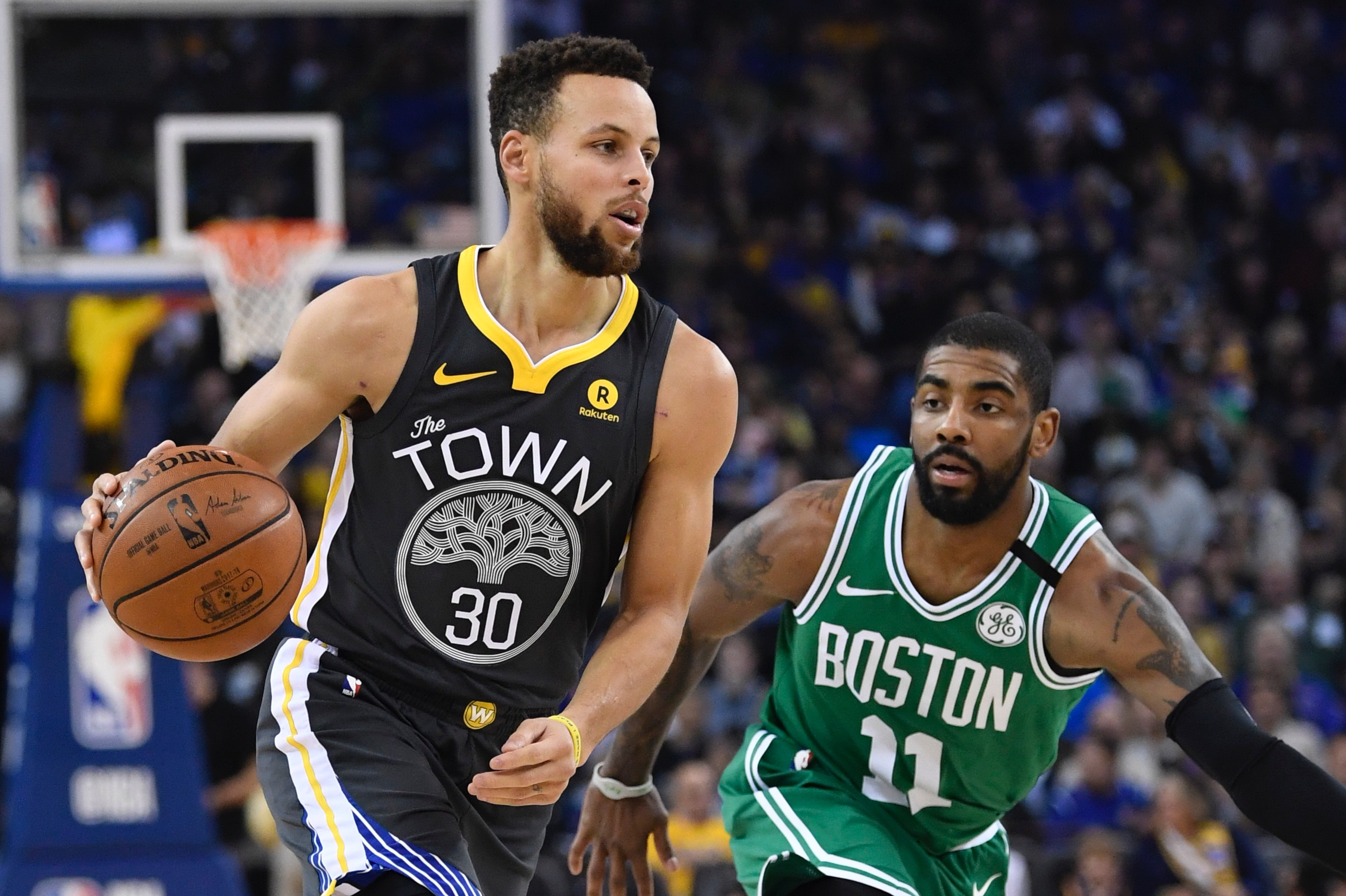 The Celtics gave the Warriors their best shot, then Stephen Curry exploded for 49