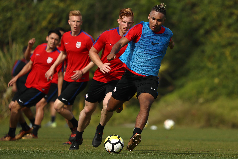 United States Training Session