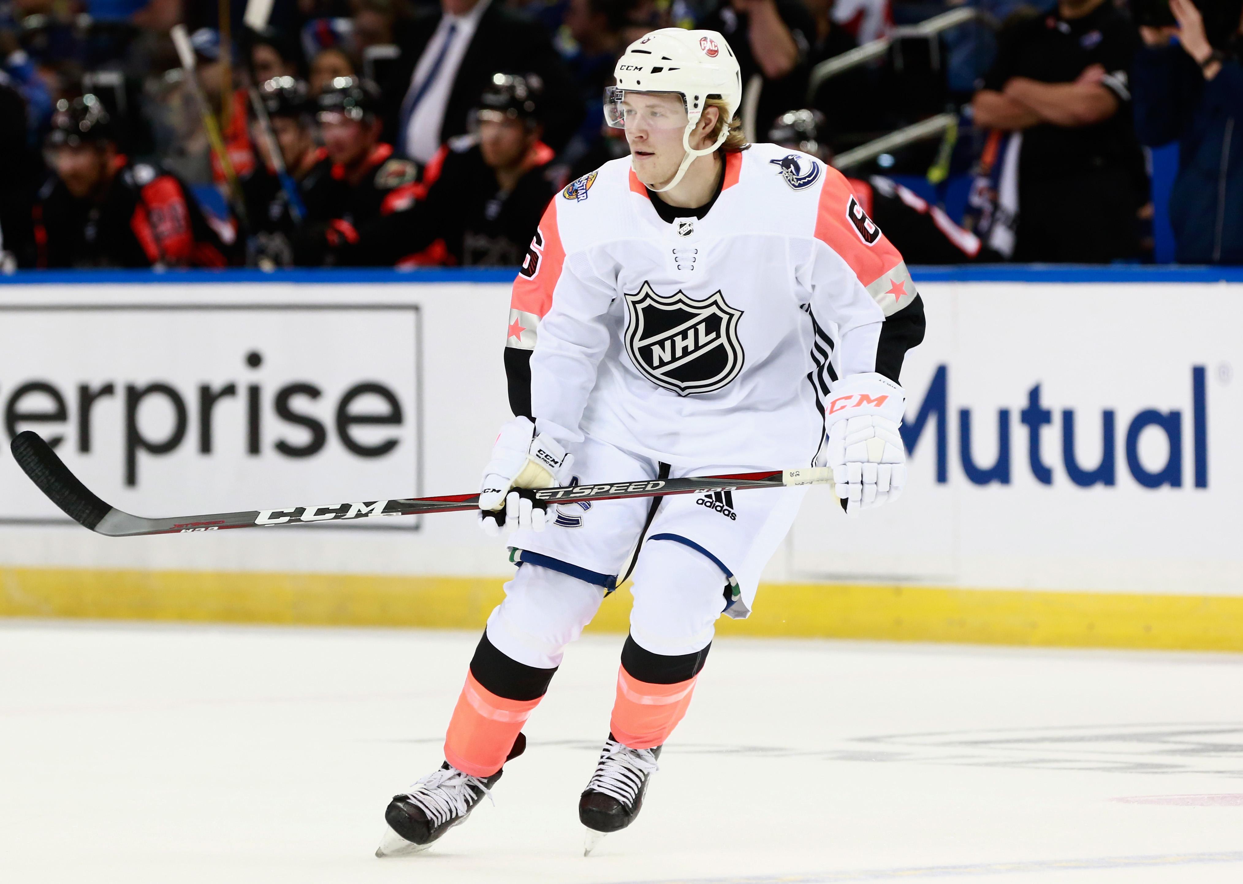 Brock Boeser's NHL All-Star Game MVP windfall includes $337,500 and a car