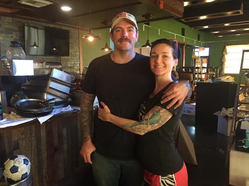 Chadwick Leger and Rachelle Fox
