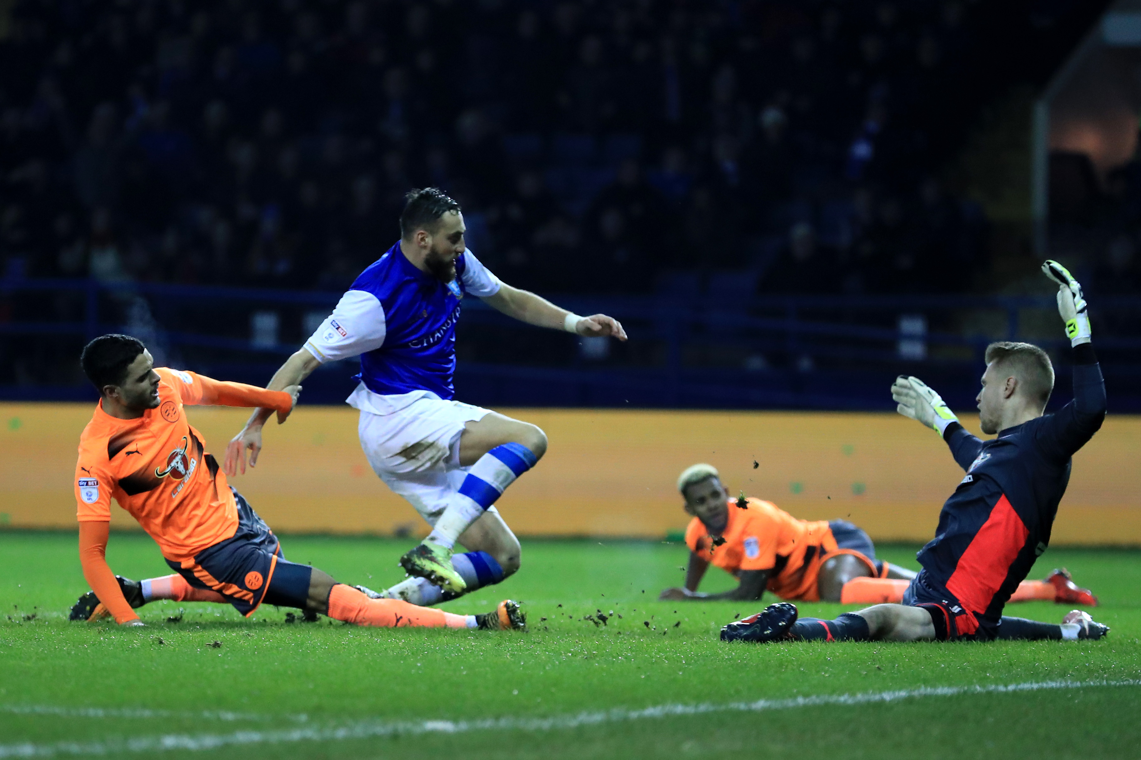 Sheffield Wednesday v Reading - The Emirates FA Cup Fourth Round
