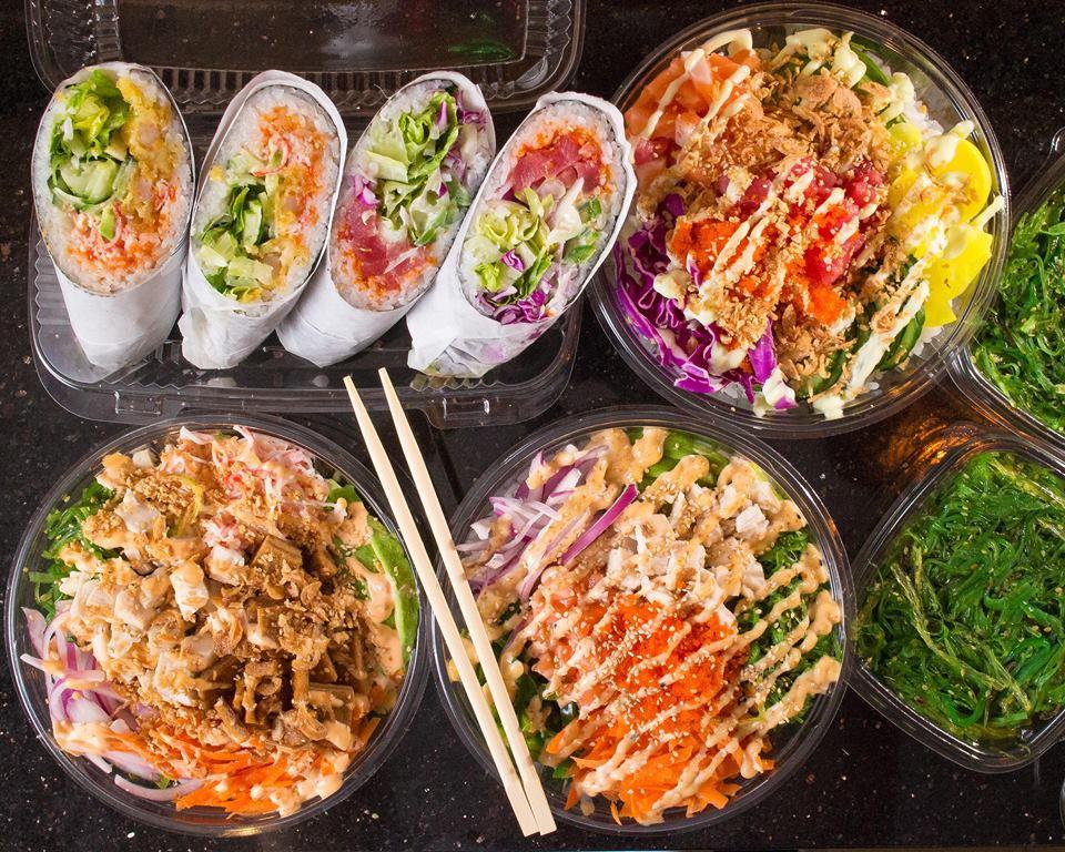 New Sushi, Inc. spread