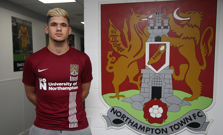 Northampton Town Unveil New Signing Boris Mathis