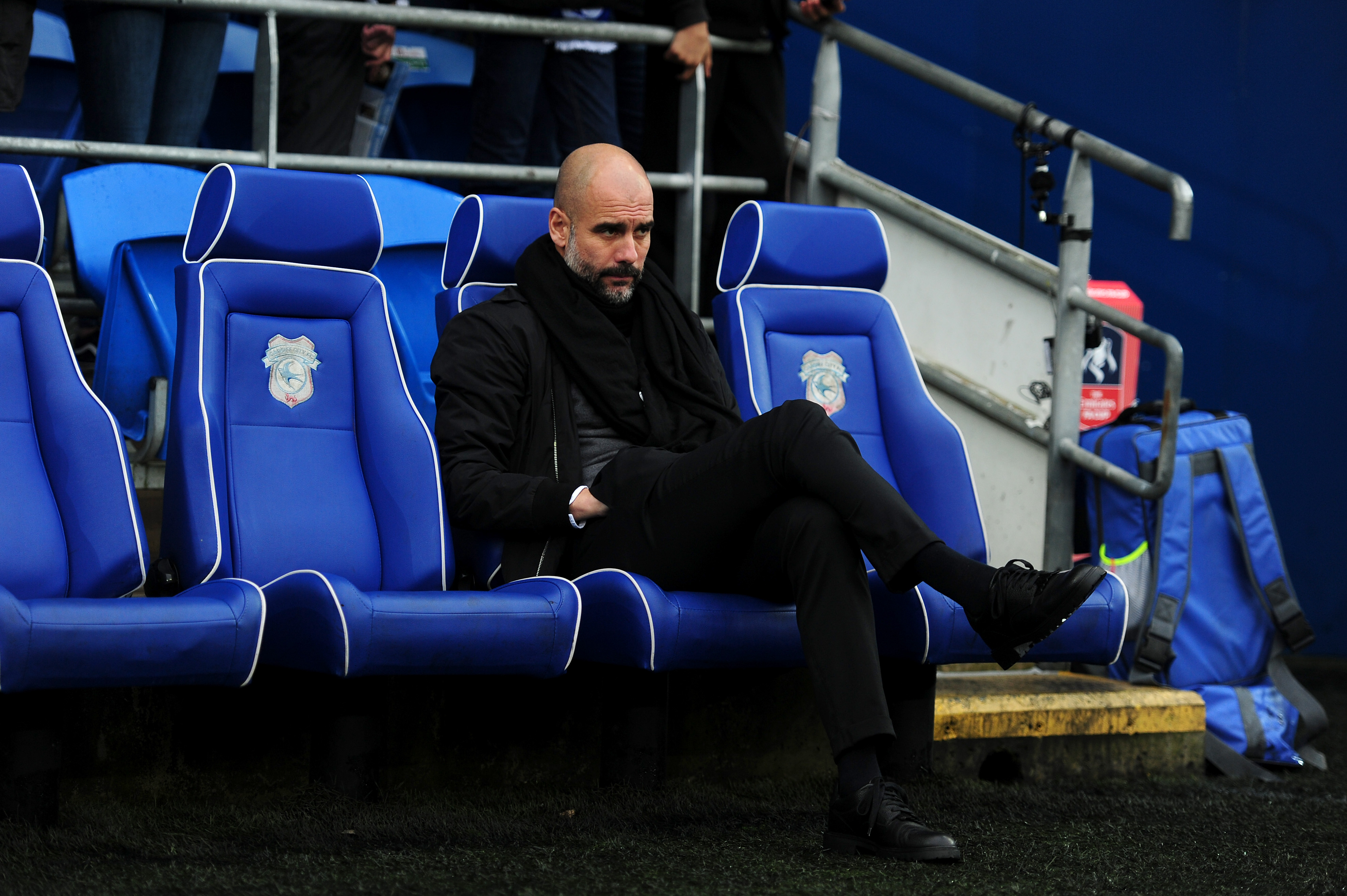 Cardiff City v Manchester City - The Emirates FA Cup Fourth Round
