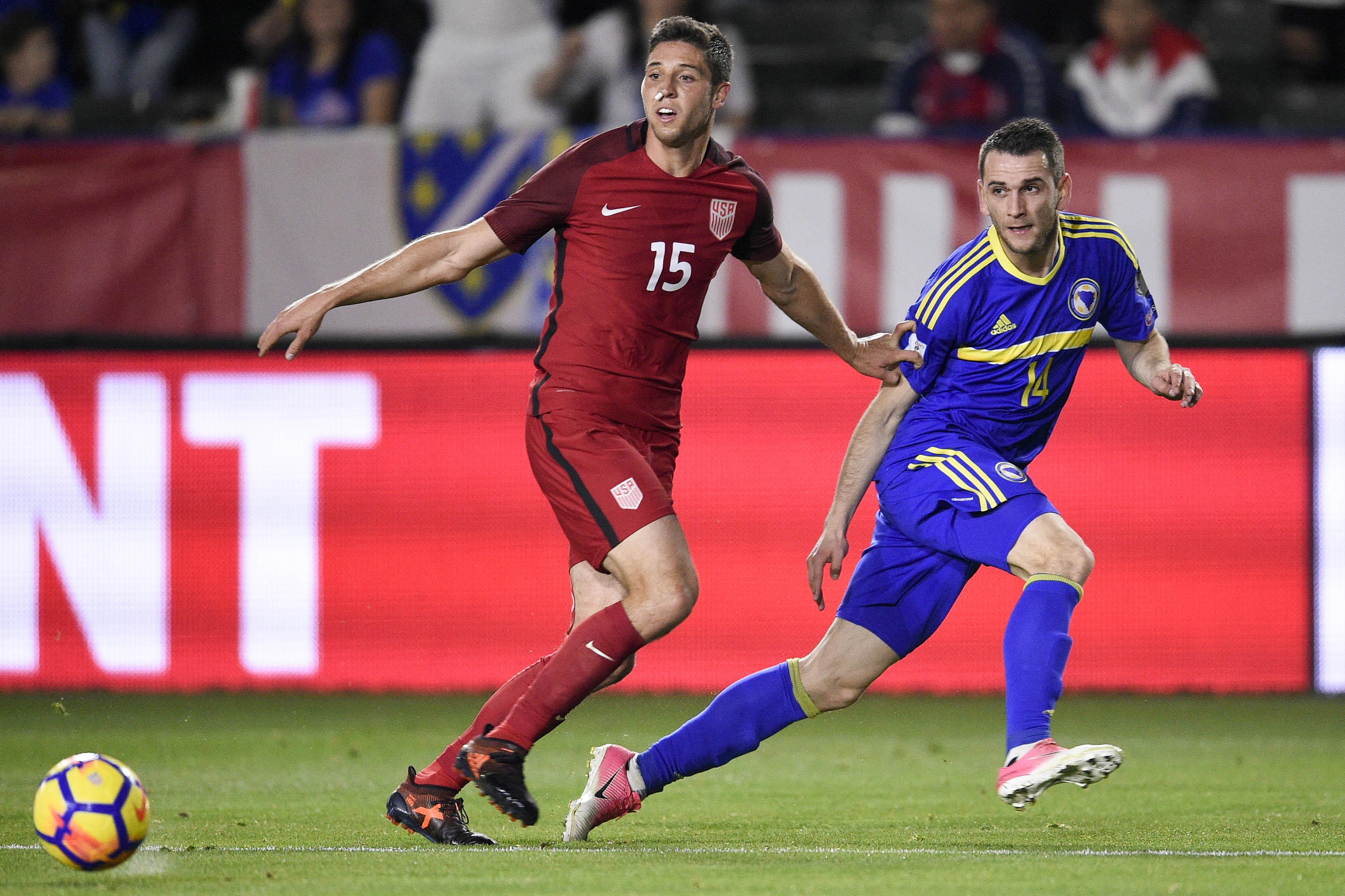 Soccer: International Friendly Soccer-Bosnia and Herzegovina  at USA