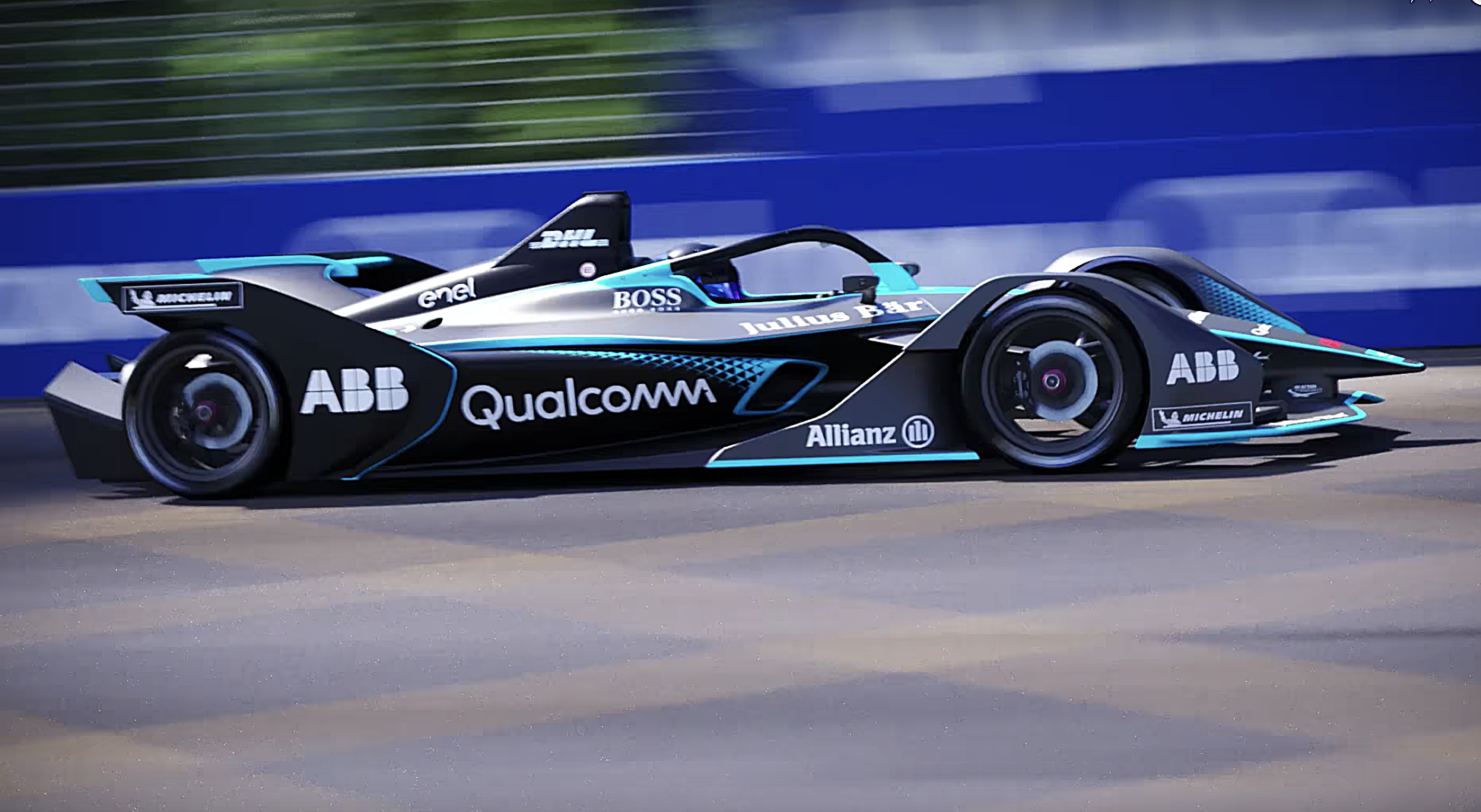 Formula E S New All Electric Racecars Look Like They Flew Here From The Future Verge