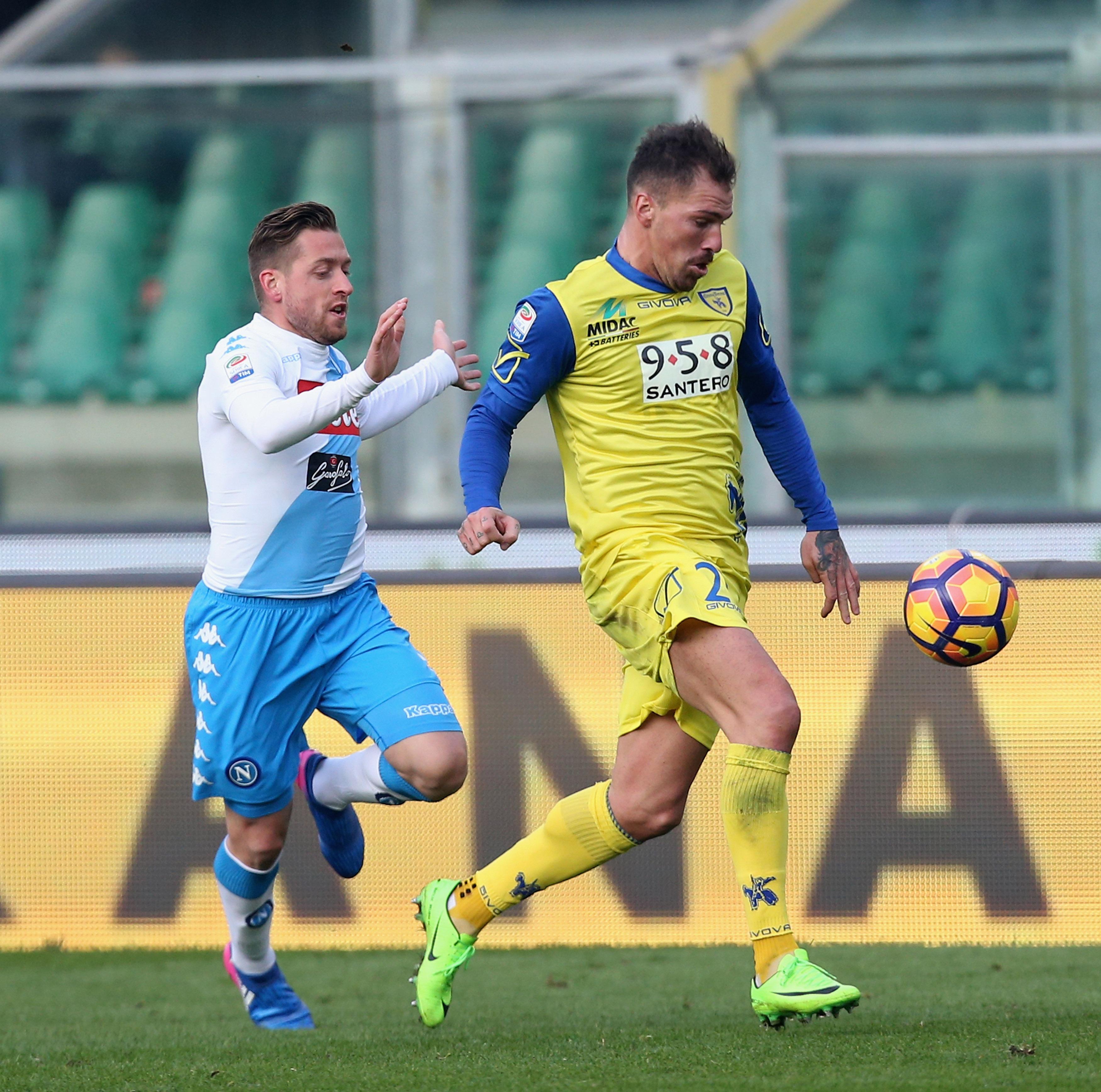 AC ChievoVerona v SSC Napoli - Serie A