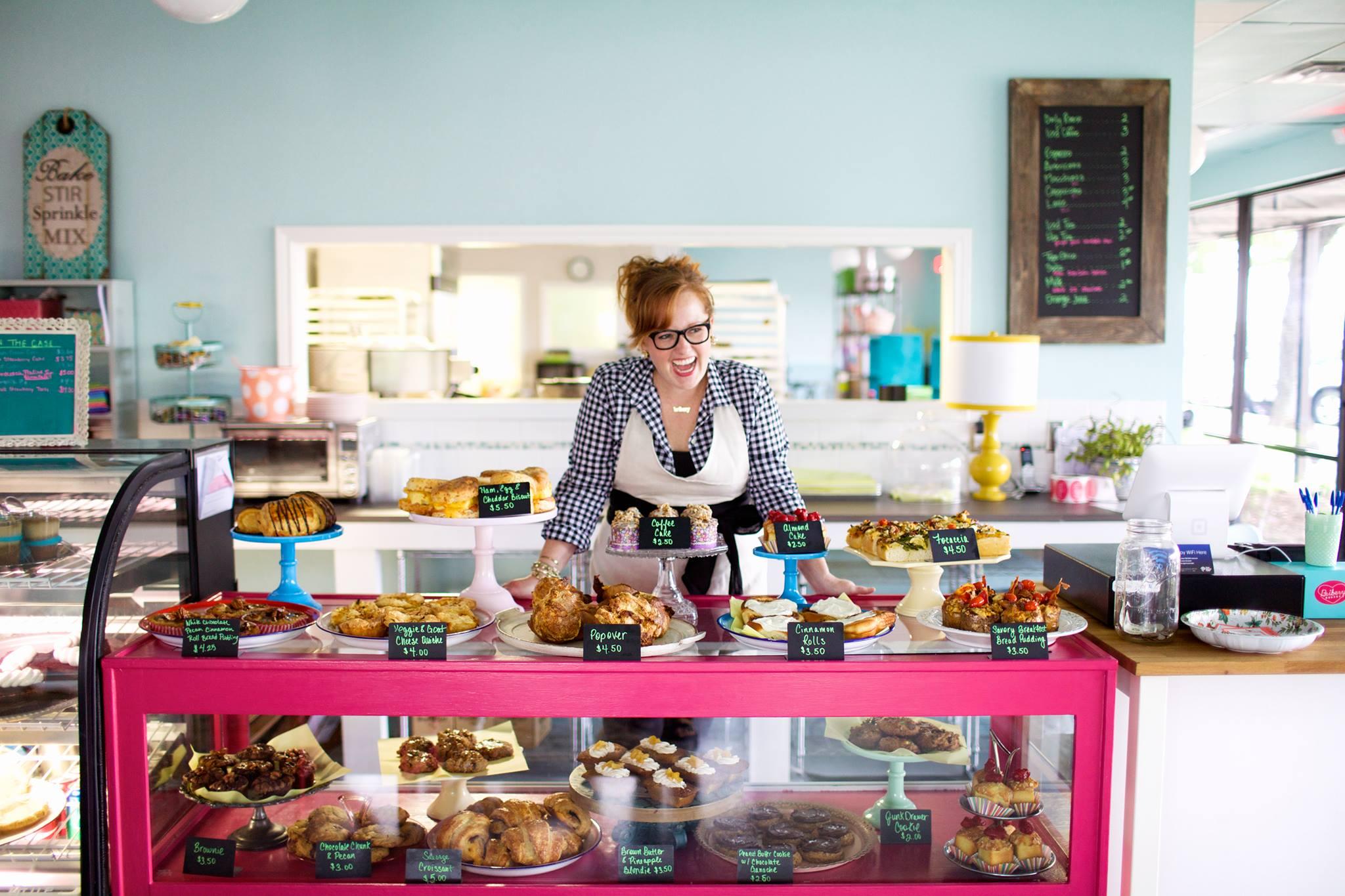 Jodi Elliott at Bribery Bakery in Wells Branch