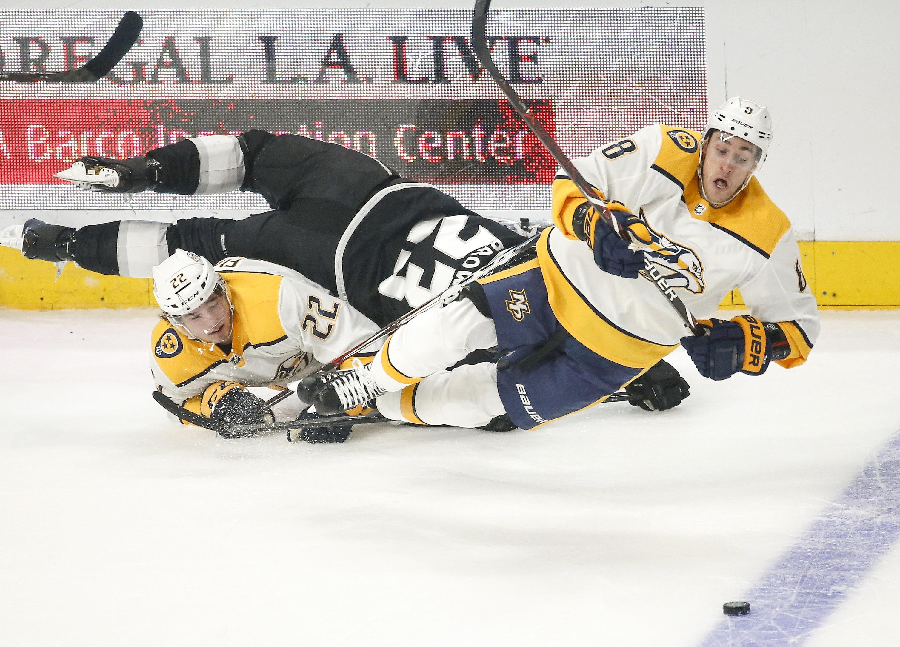 (SP)U.S.-LOS ANGELES--ICE HOCKEY-NHL-NSH VS LAK