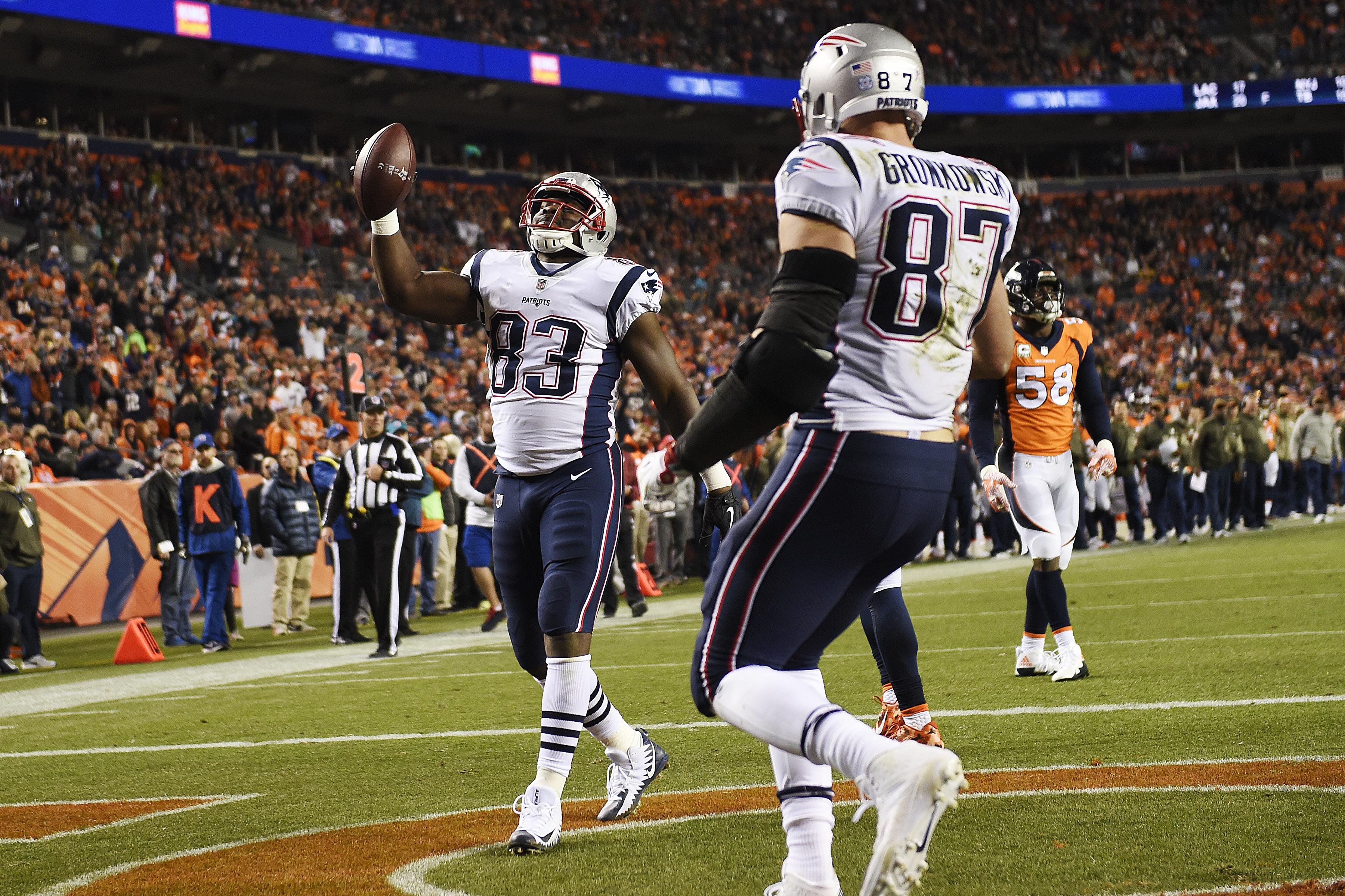 Denver Broncos vs. against the New England Patriots, NFL Week 10