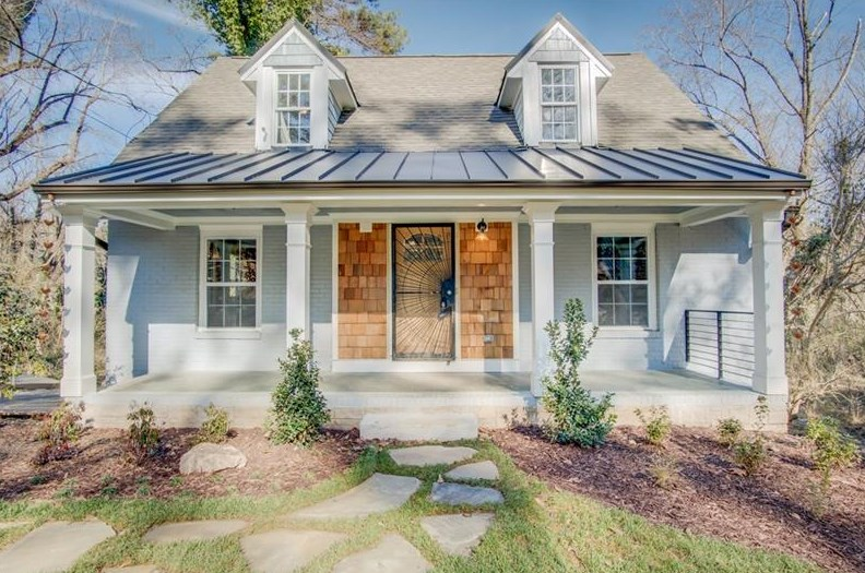 A cape cod style house for sale in Westside Atlanta right now.