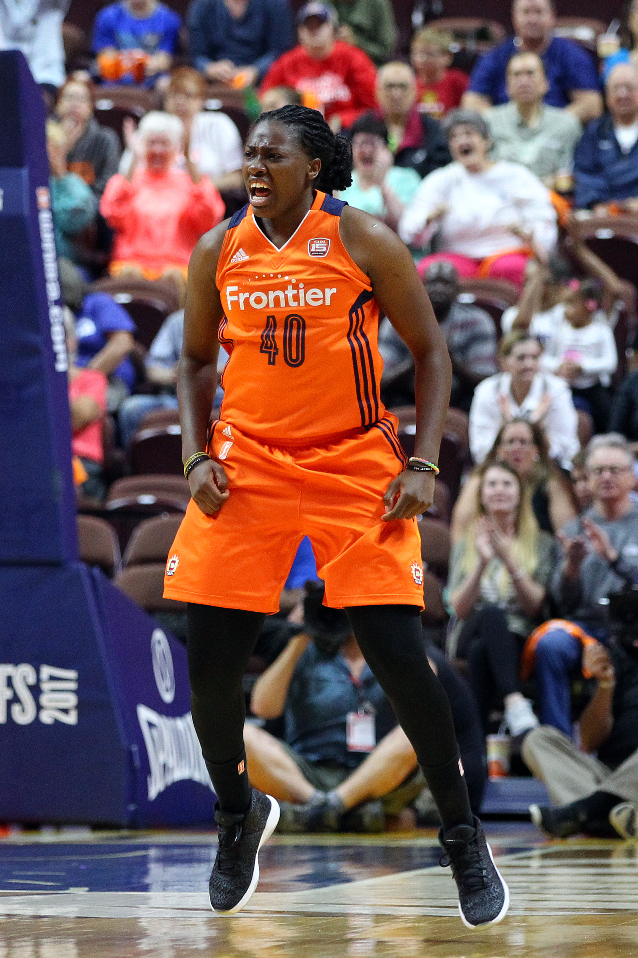 WNBA: SEP 10 Second Round - Phoenix Mercury at Connecticut Sun