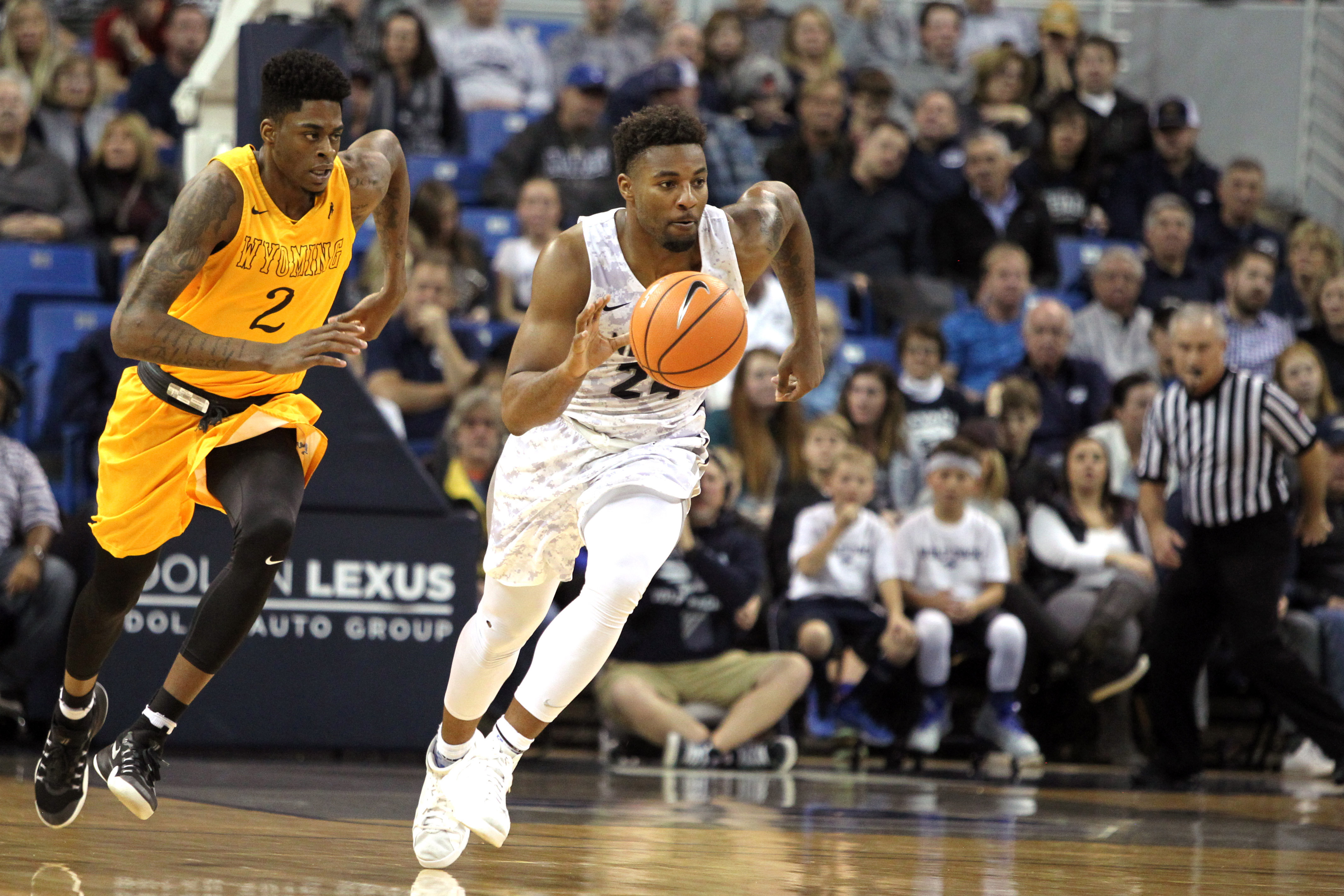 NCAA Basketball: Wyoming at Nevada