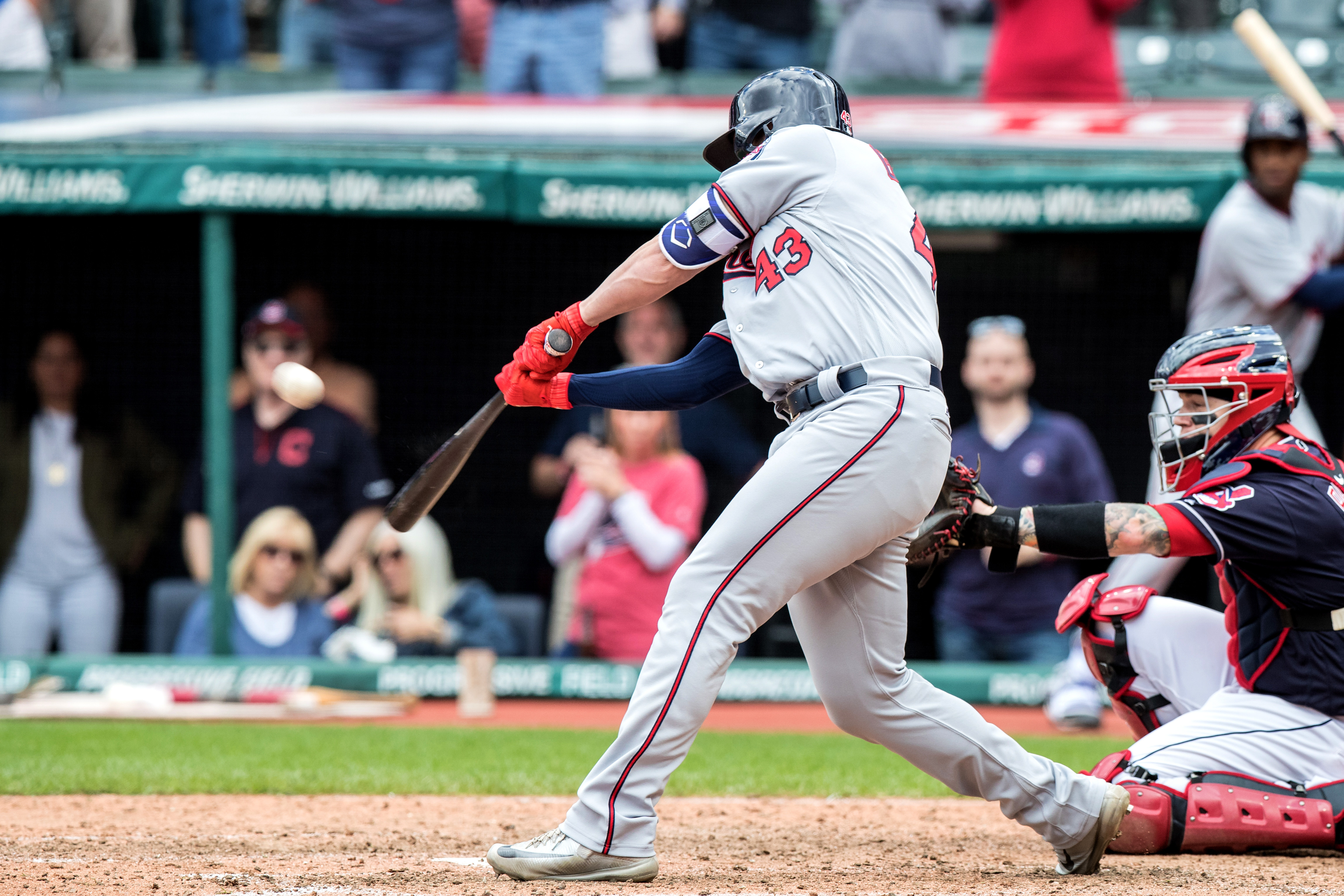 MLB: SEP 28 Twins at Indians