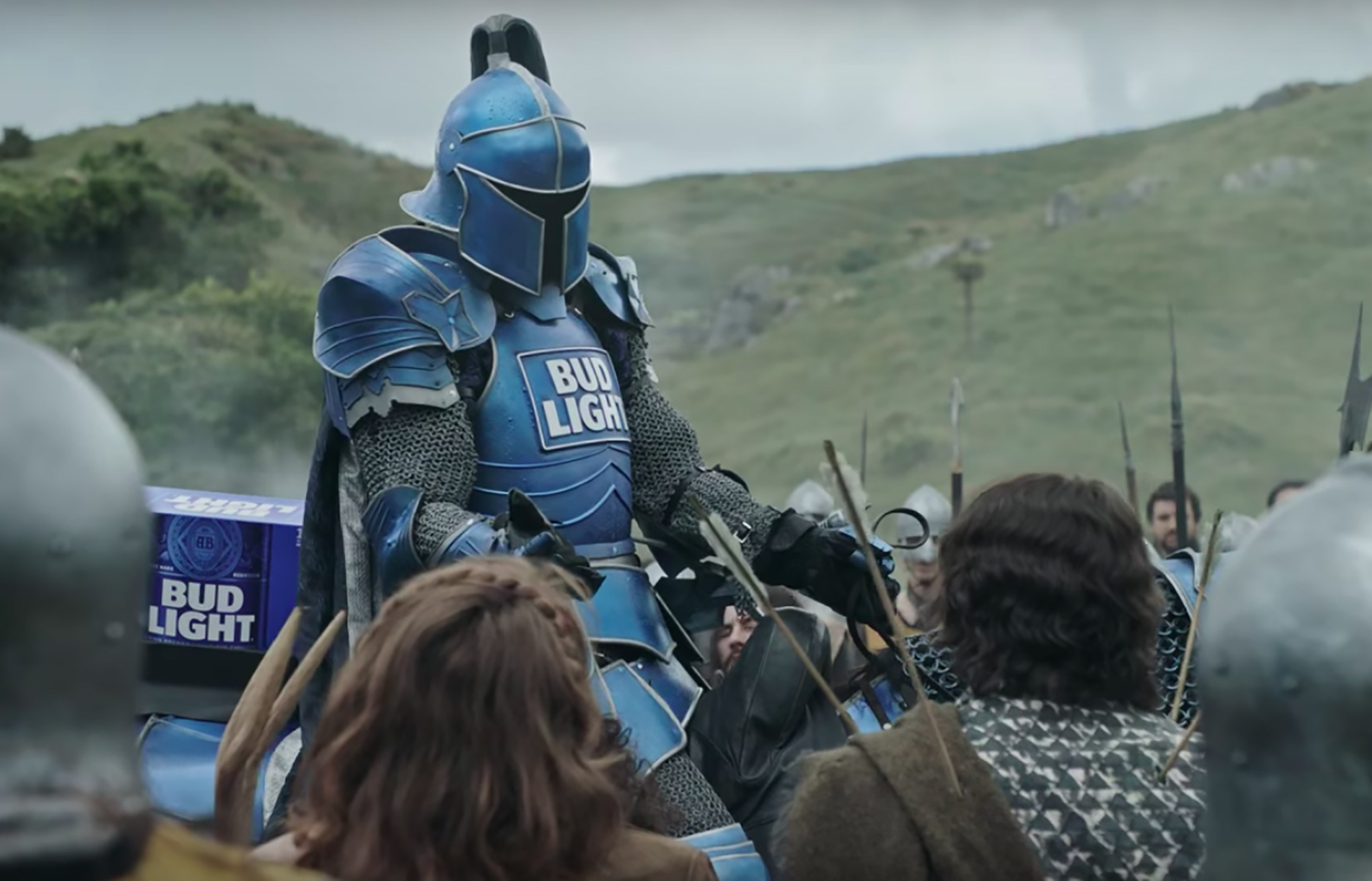 Heres bud lights dilly dilly super bowl commercial eater aloadofball Gallery